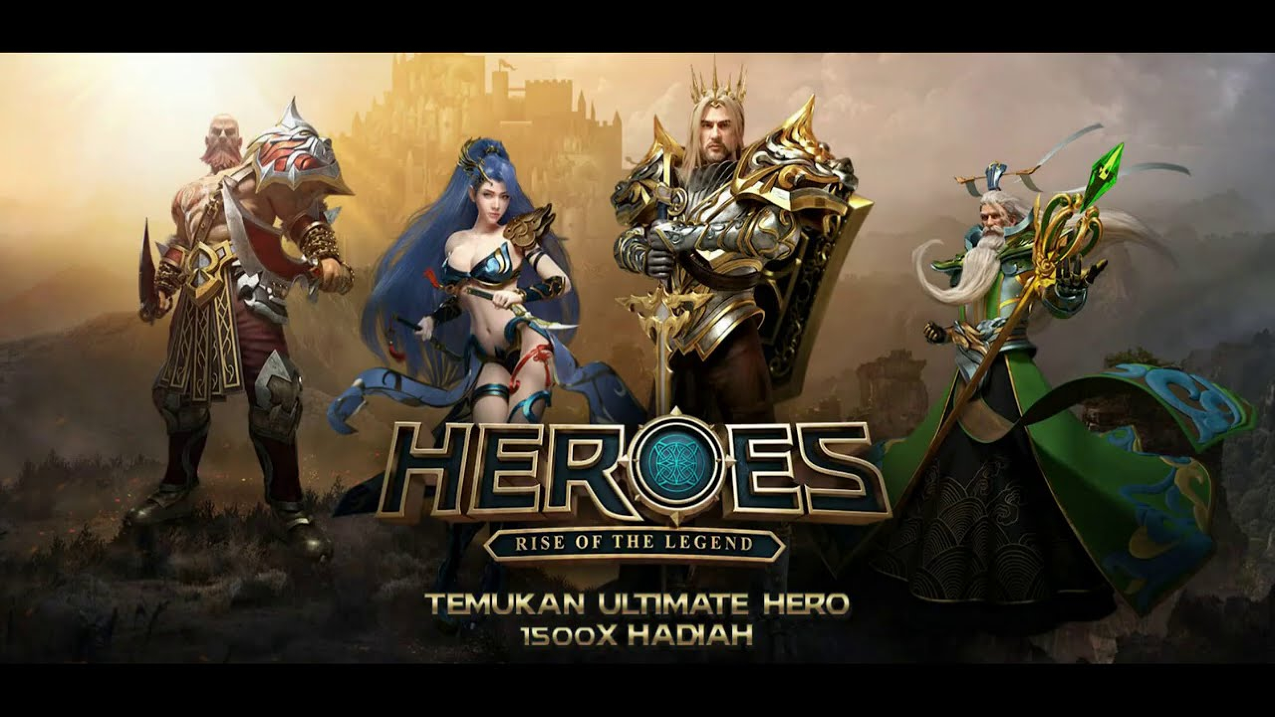 The Heroes Rise of the Legend Online Slot Demo Game by Spadegaming