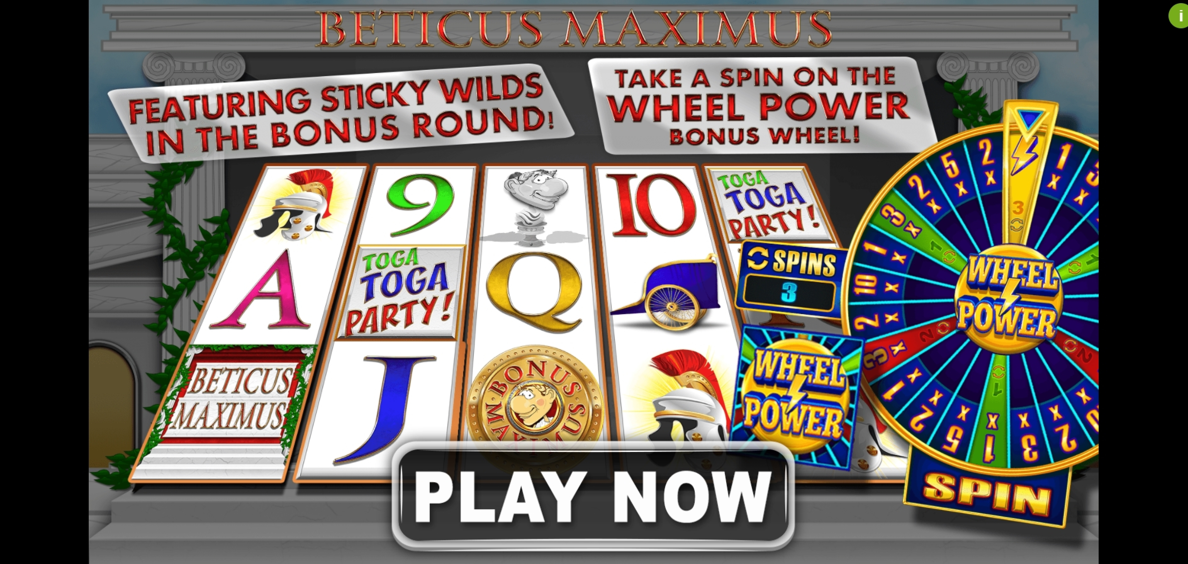 Play Beticus Maximus Free Casino Slot Game by Spin Games