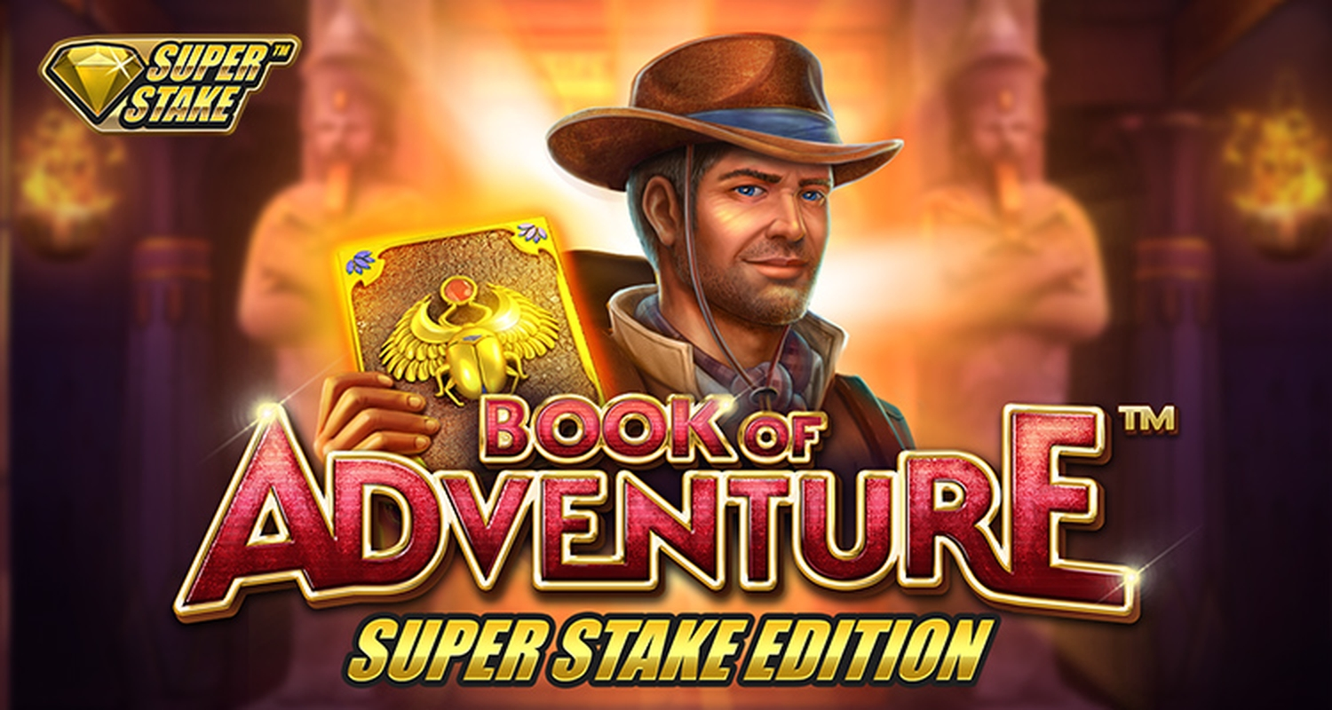 Book of Adventure Super Stake Edition Online Slot Demo Game by Stakelogic