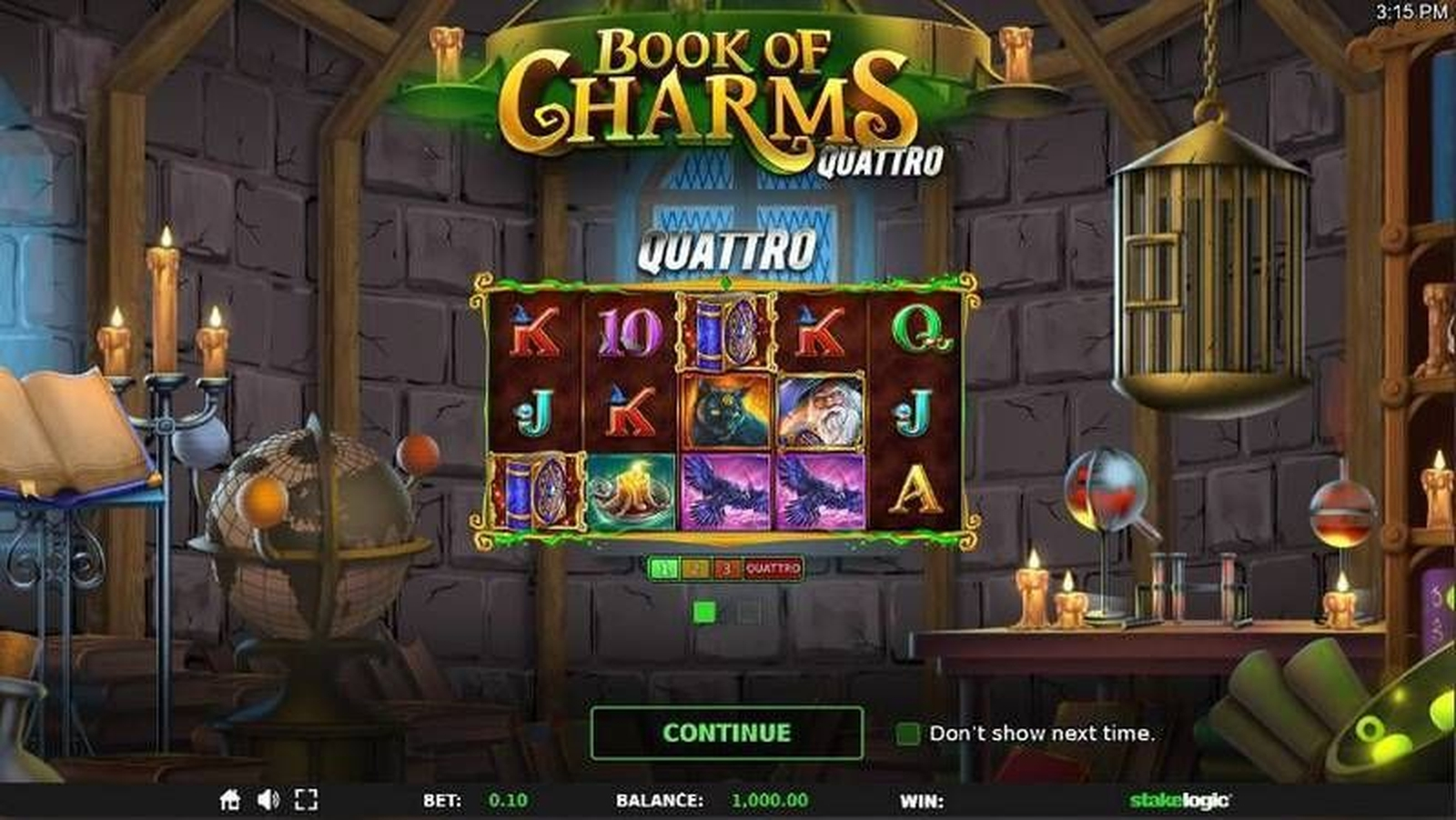 Book of Charms Online Slot Demo Game by Stakelogic