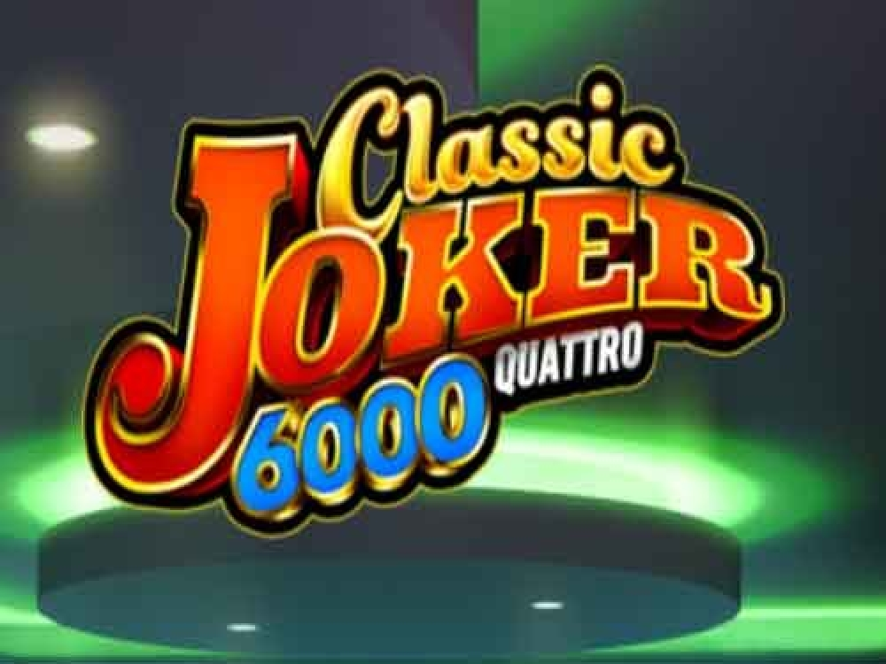 Classic Joker 6000 Quattro Online Slot Demo Game by Stakelogic