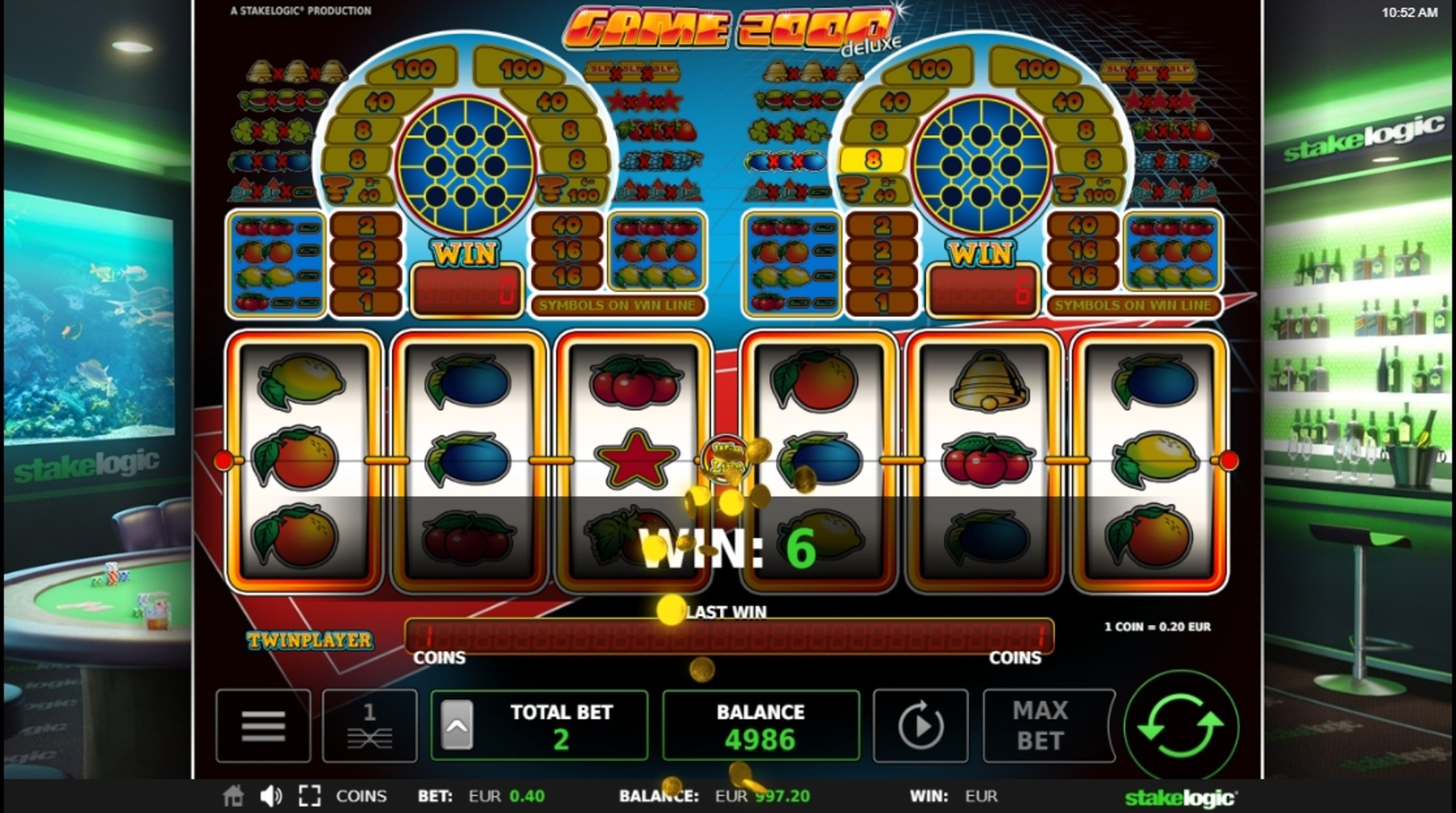 Win Money in Game 2000 Free Slot Game by Stakelogic