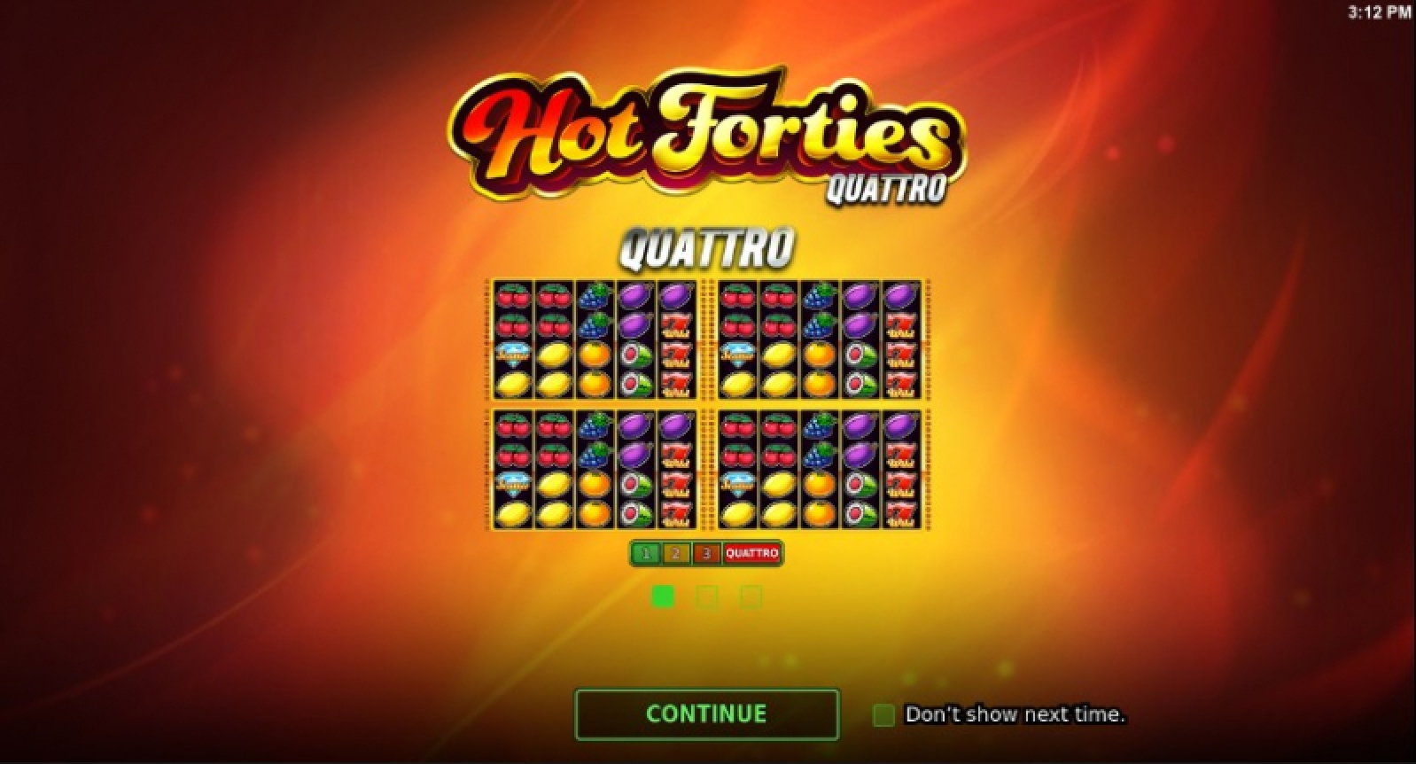 Hot Forties Quattro Online Slot Demo Game by Stakelogic