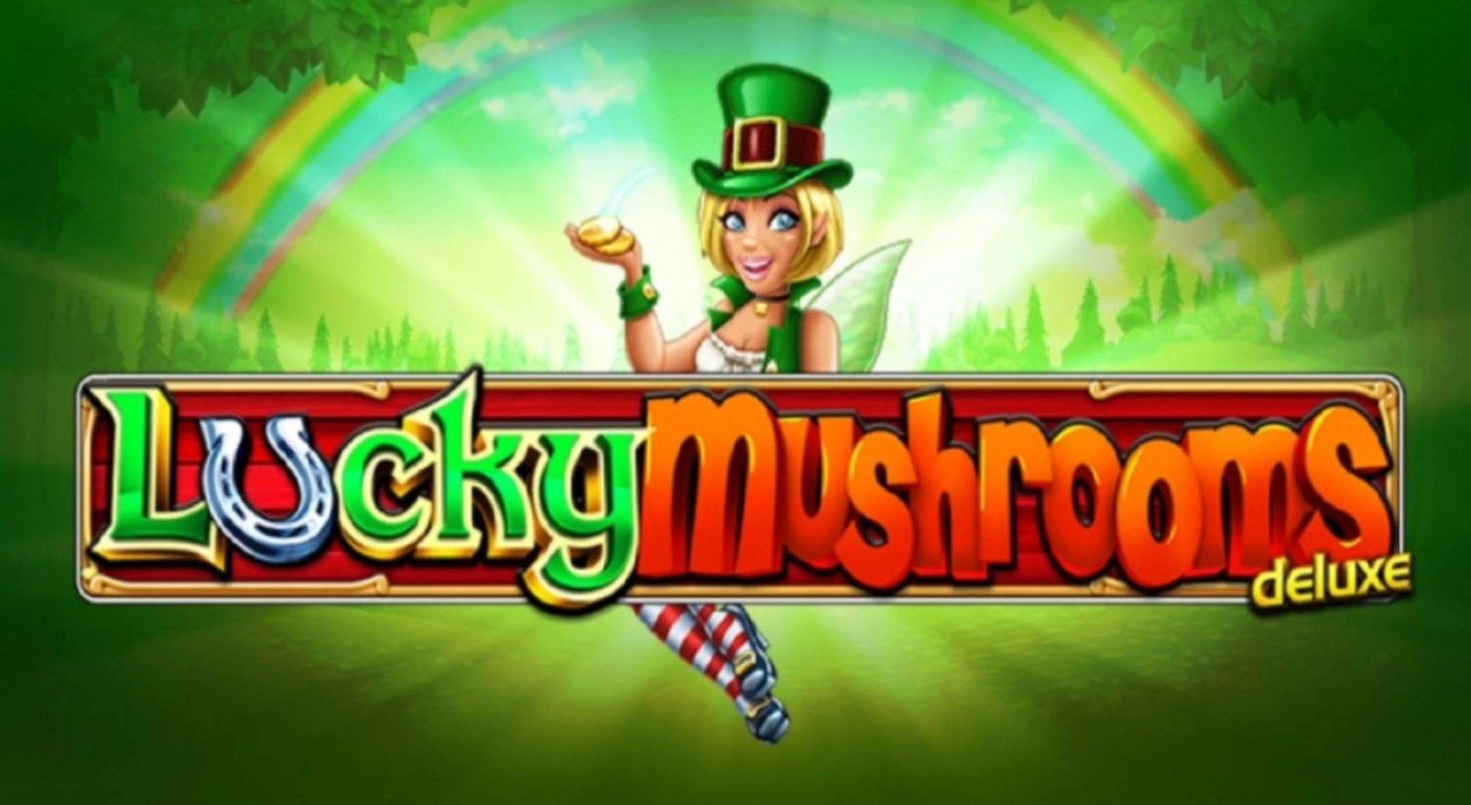 Lucky Mushrooms Deluxe Online Slot Demo Game by Stakelogic