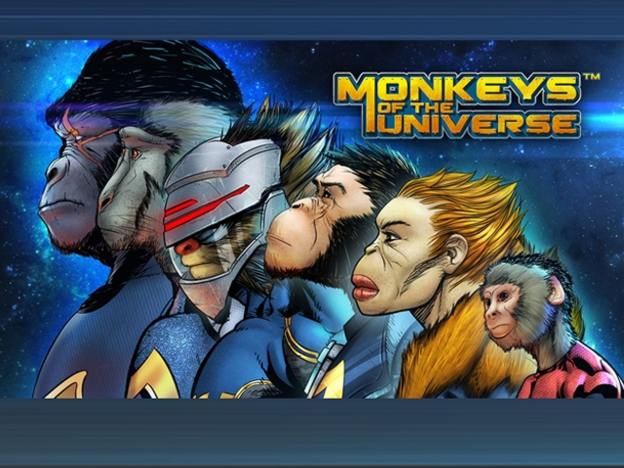 Monkeys of the Universe Online Slot Demo Game by Stakelogic