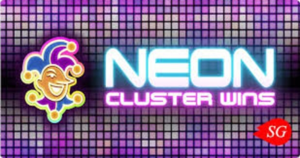 Neon Cluster Wins Online Slot Demo Game by Stakelogic