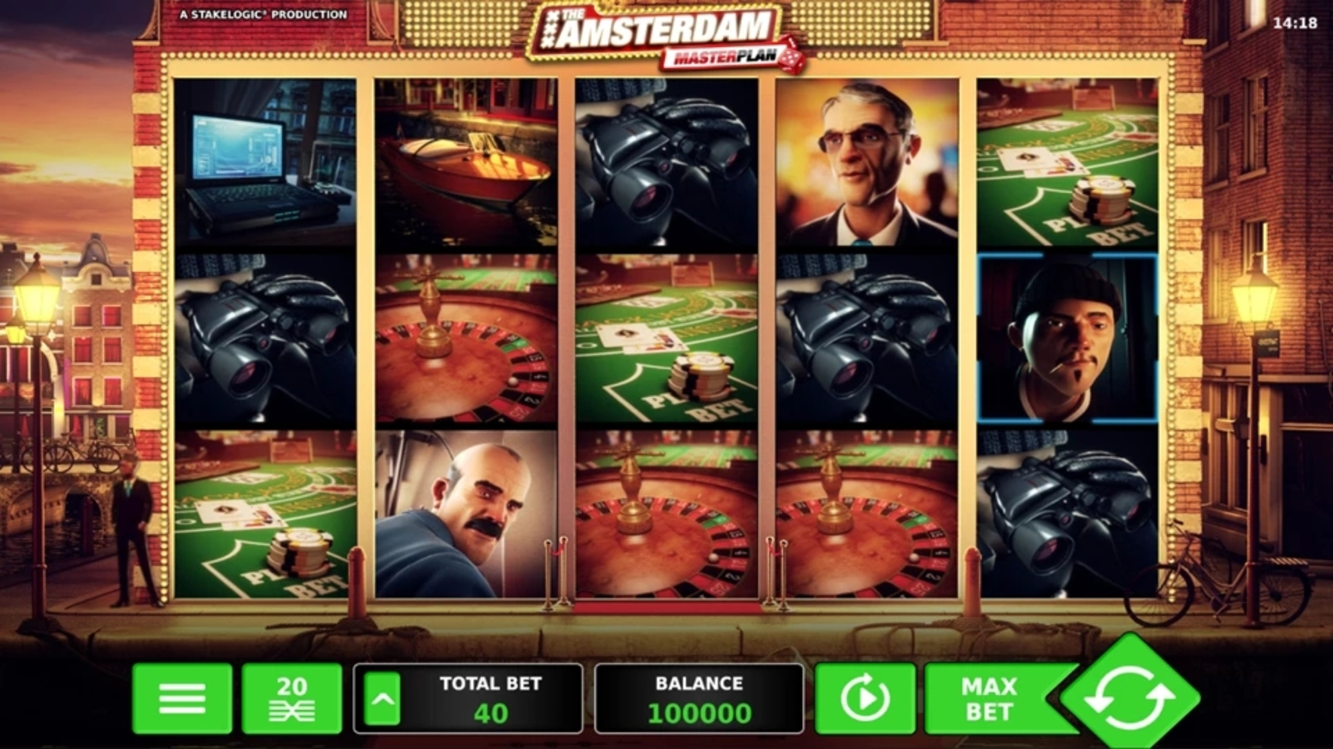 The Amsterdam Masterplan Online Slot Demo Game by Stakelogic