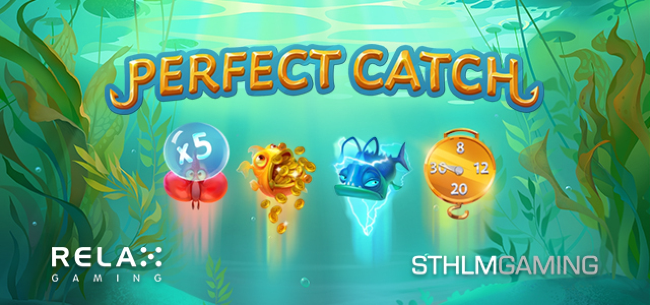 The Perfect Catch Online Slot Demo Game by STHLM Gaming