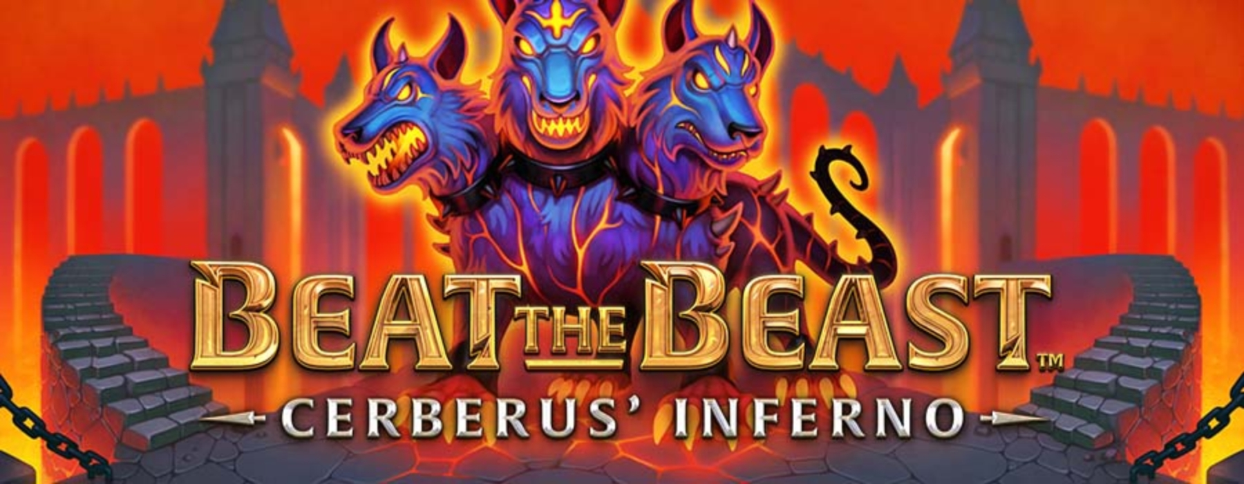Beat the Beast Cerberus Inferno Online Slot Demo Game by Thunderkick