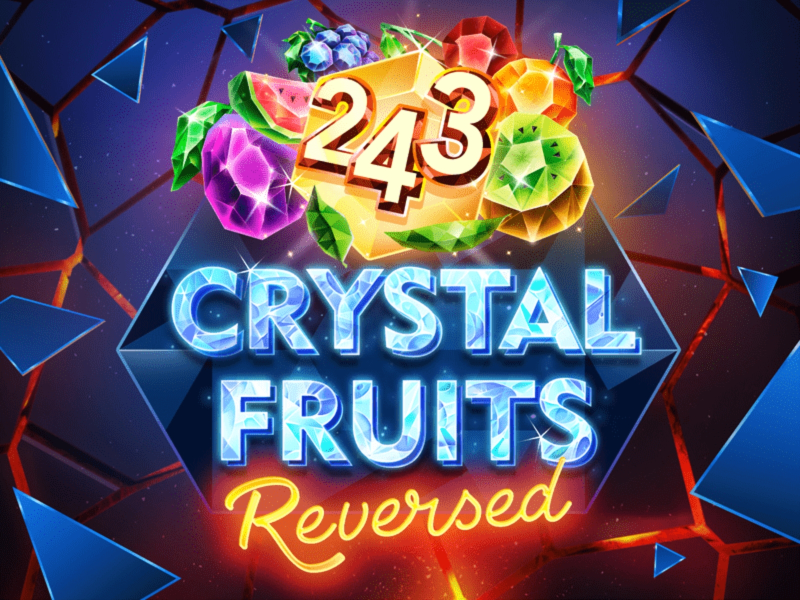 The 243 Crystal Fruits Reversed Online Slot Demo Game by Tom Horn Gaming