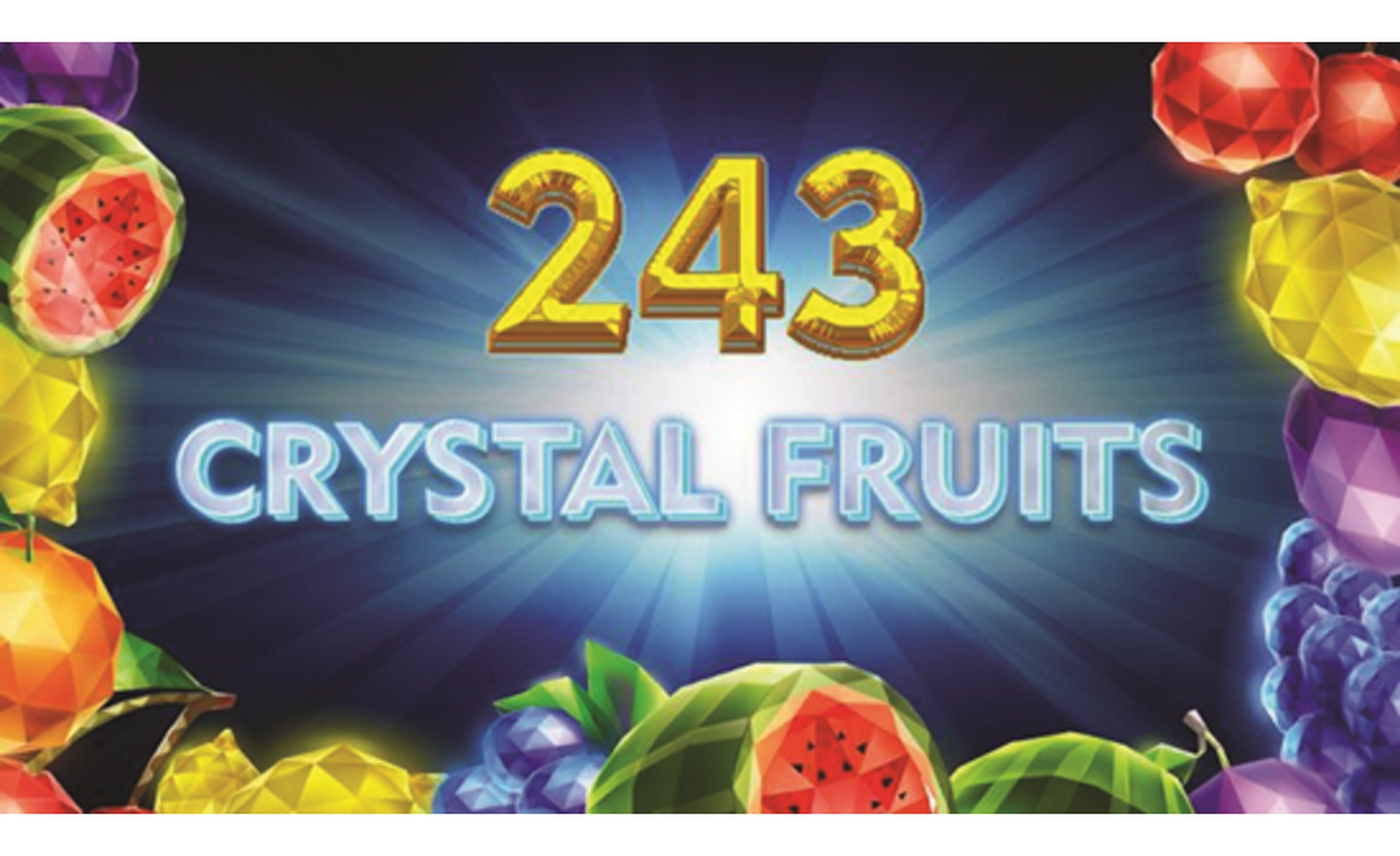 The 243 Crystal Fruits Online Slot Demo Game by Tom Horn Gaming