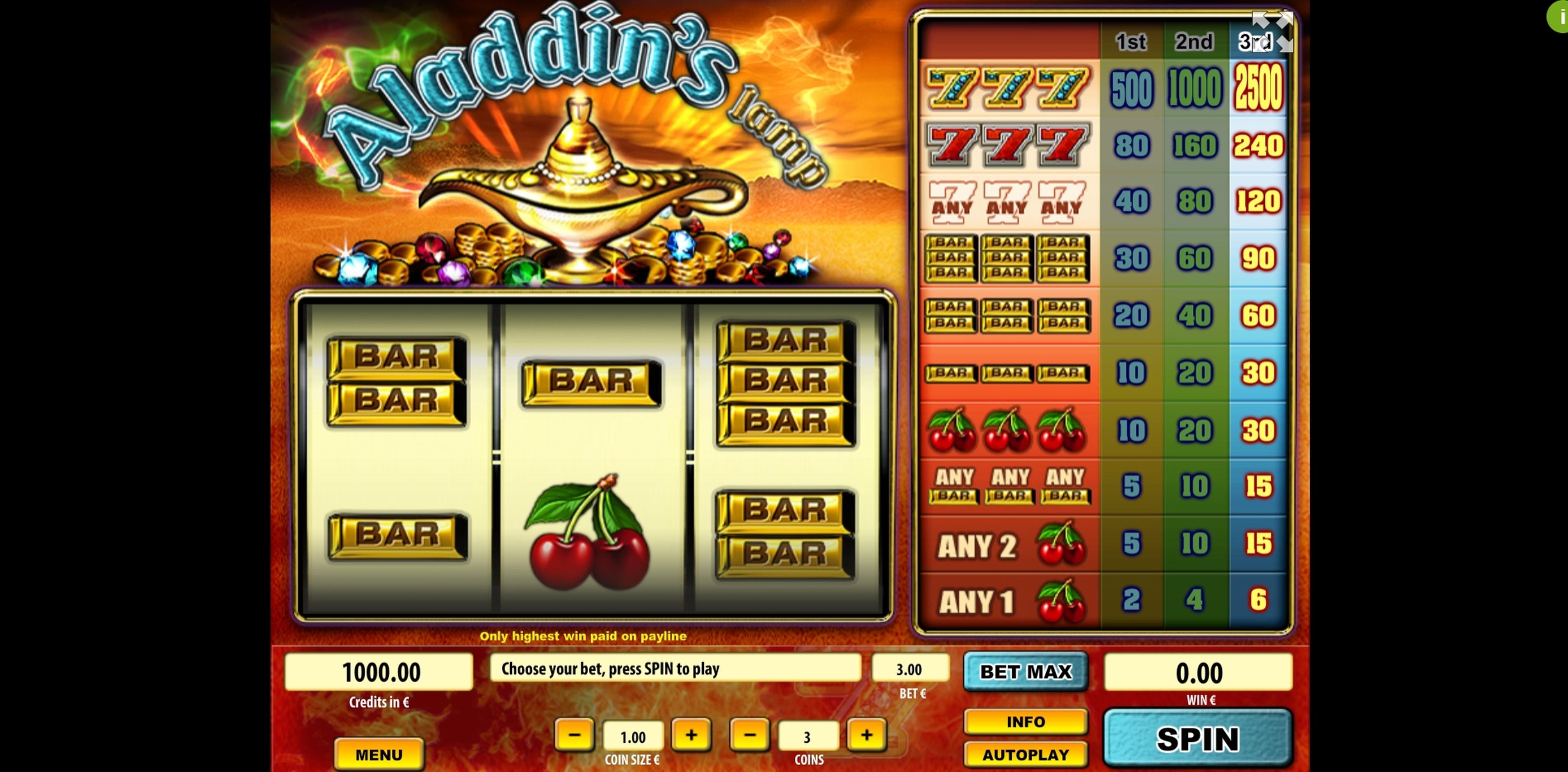 App bar aladins lamp cayetano casino slots keno omania