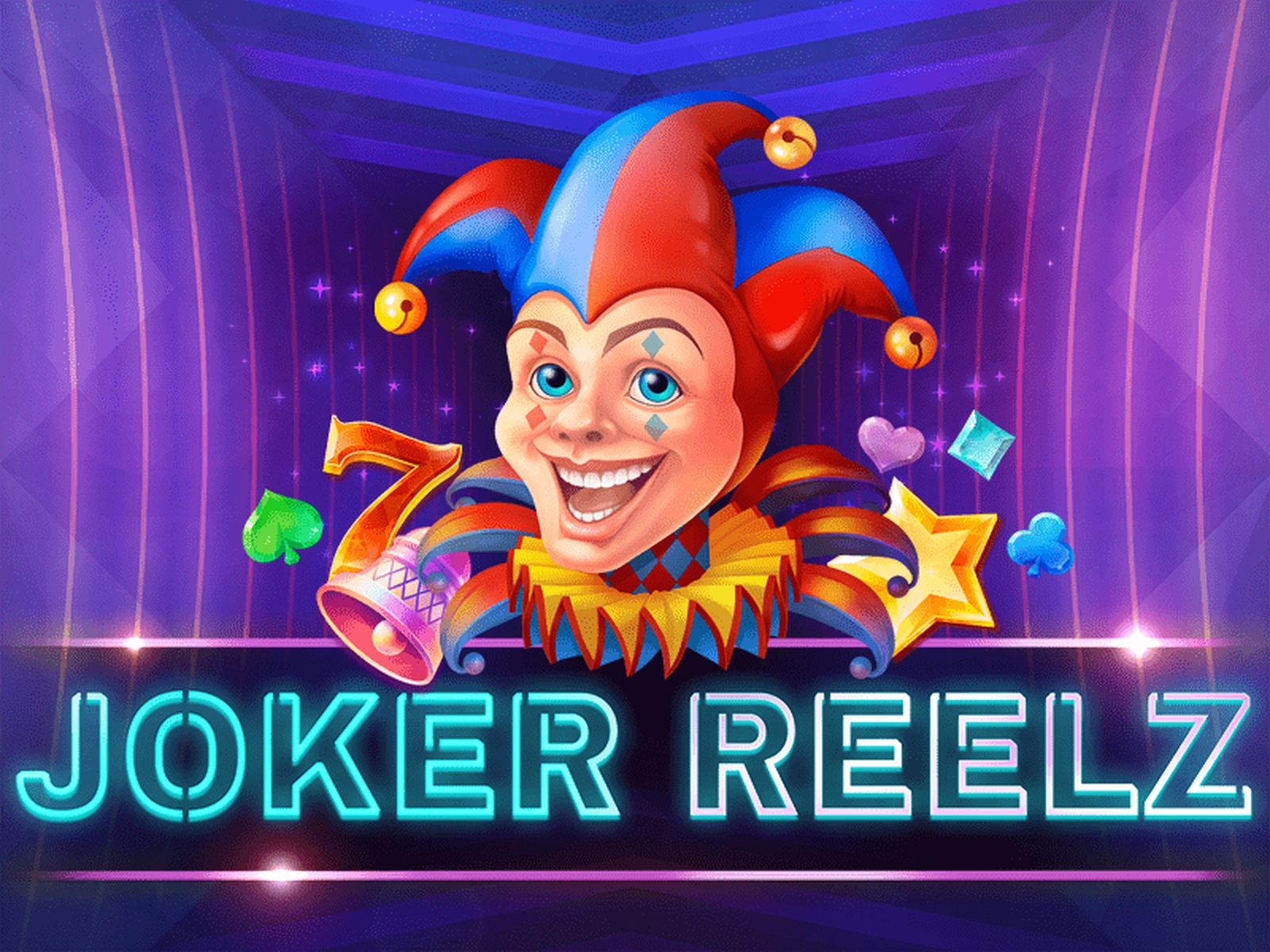 Reels in Joker Reelz Slot Game by Tom Horn Gaming