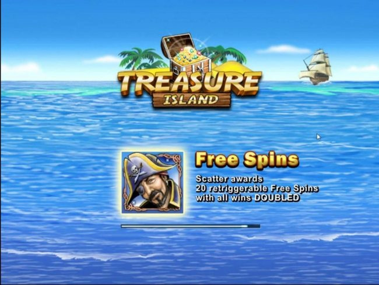 The Treasure Island (Tom Horn Gaming) Online Slot Demo Game by Tom Horn Gaming