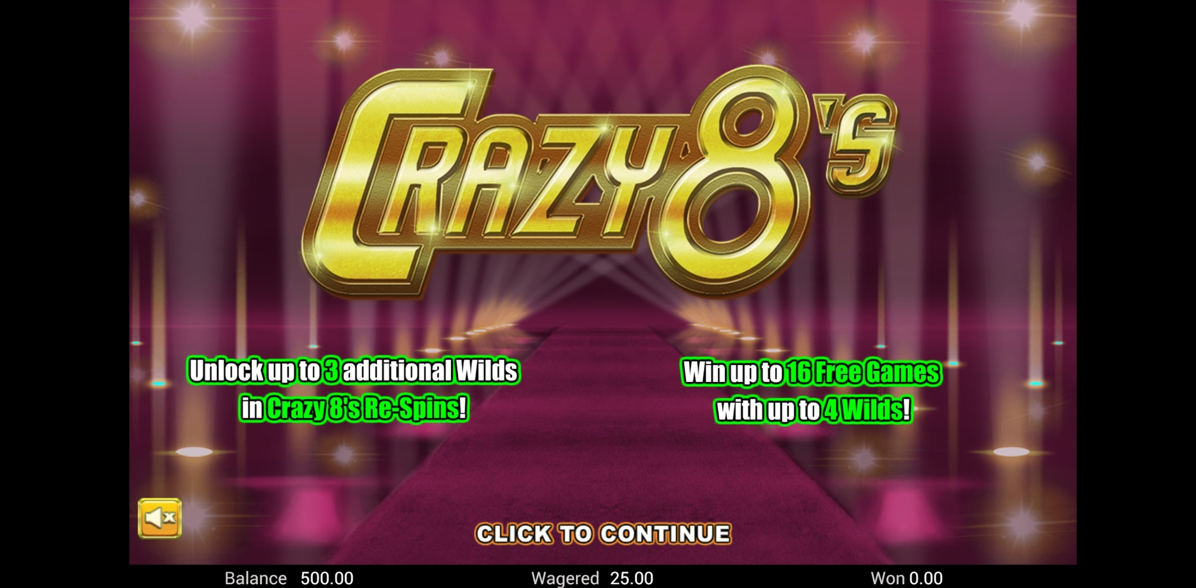 Play Crazy 8's Free Casino Slot Game by Top Trend Gaming