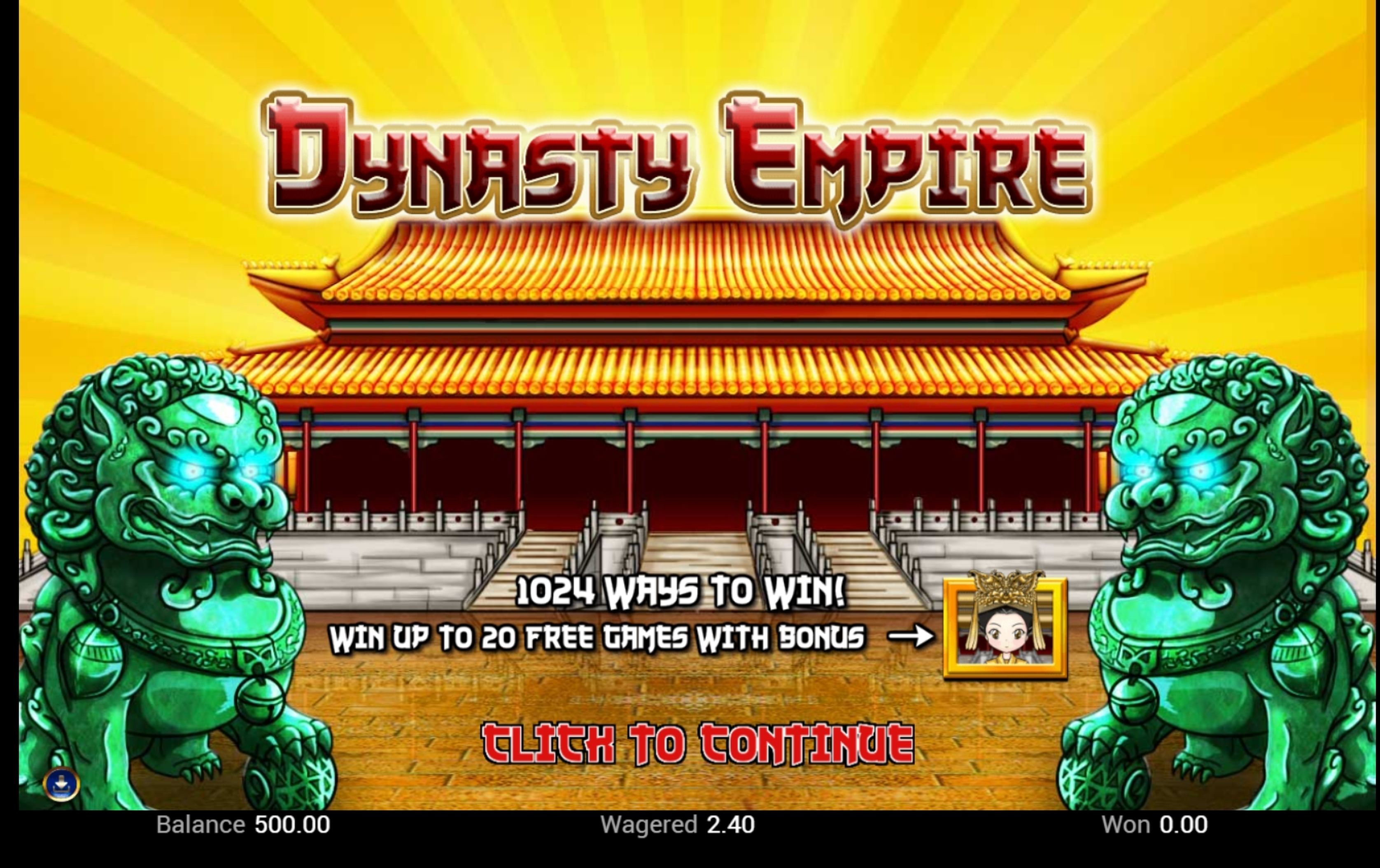 Play Dynasty Empire Free Casino Slot Game by Top Trend Gaming