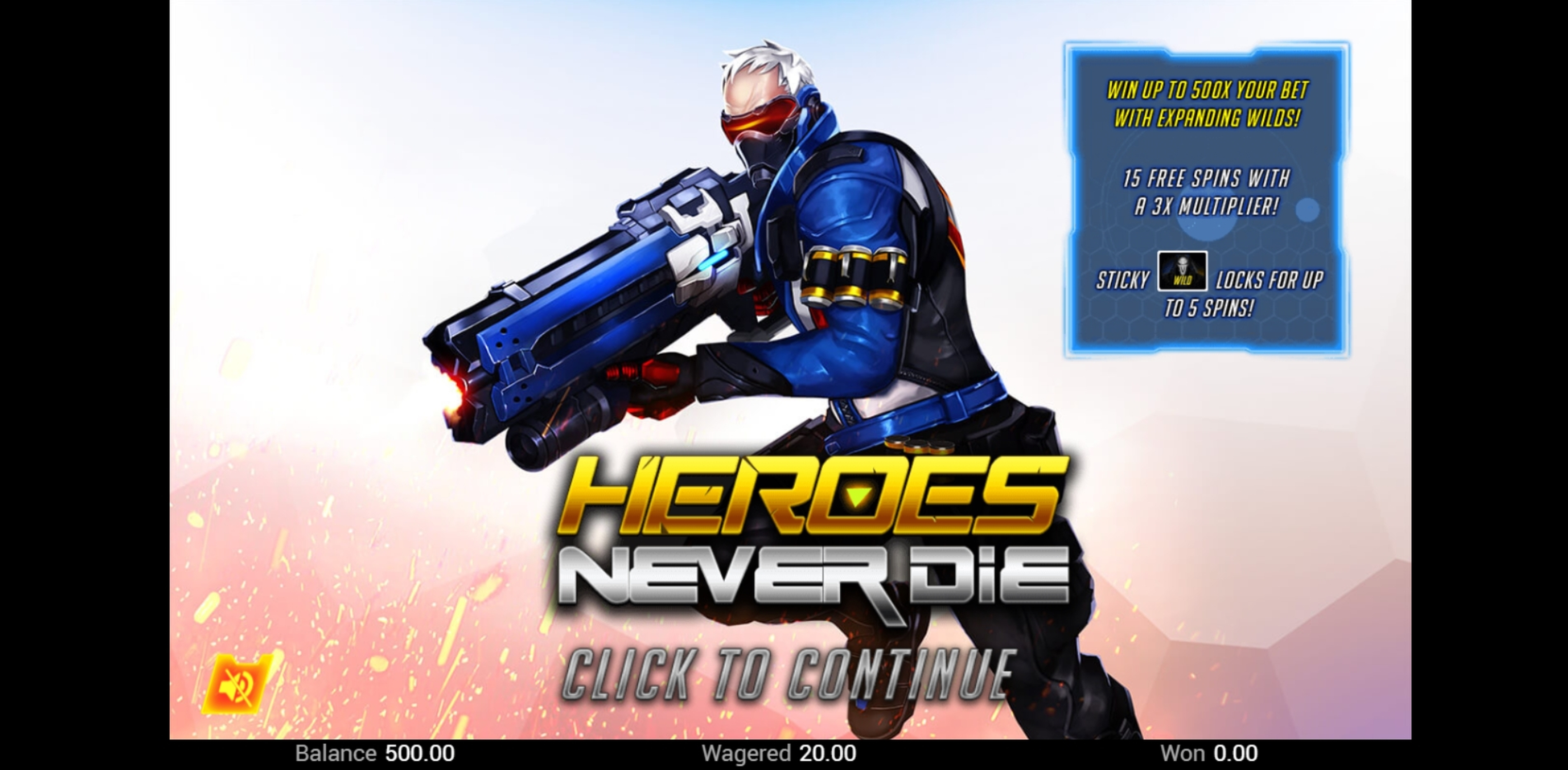 Play Heroes Never Die Free Casino Slot Game by Top Trend Gaming