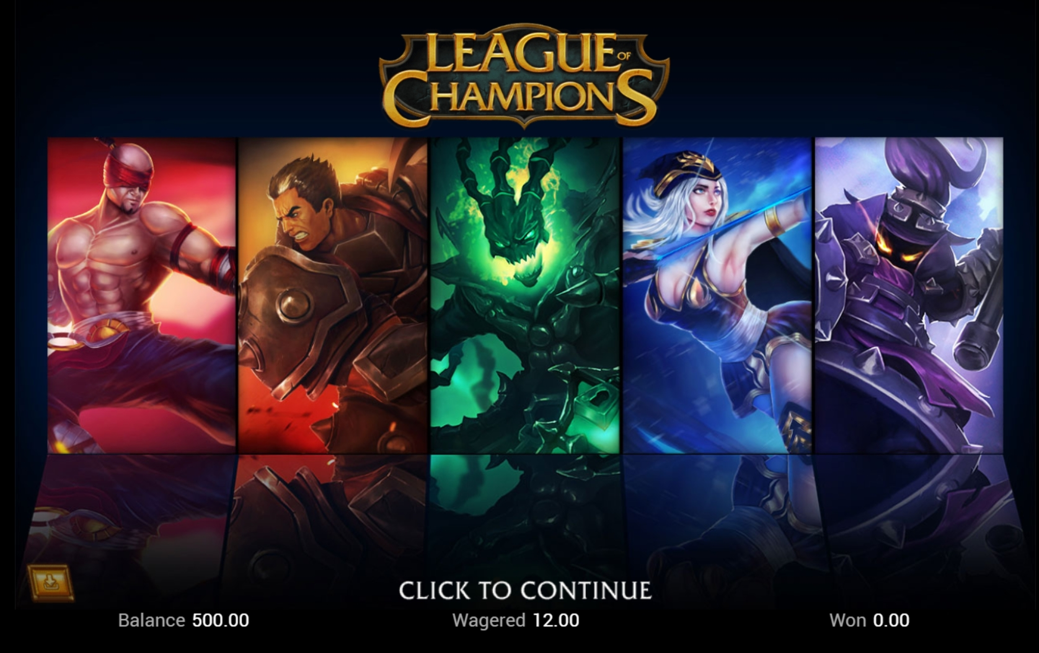 Play League Of Champions Free Casino Slot Game by Top Trend Gaming