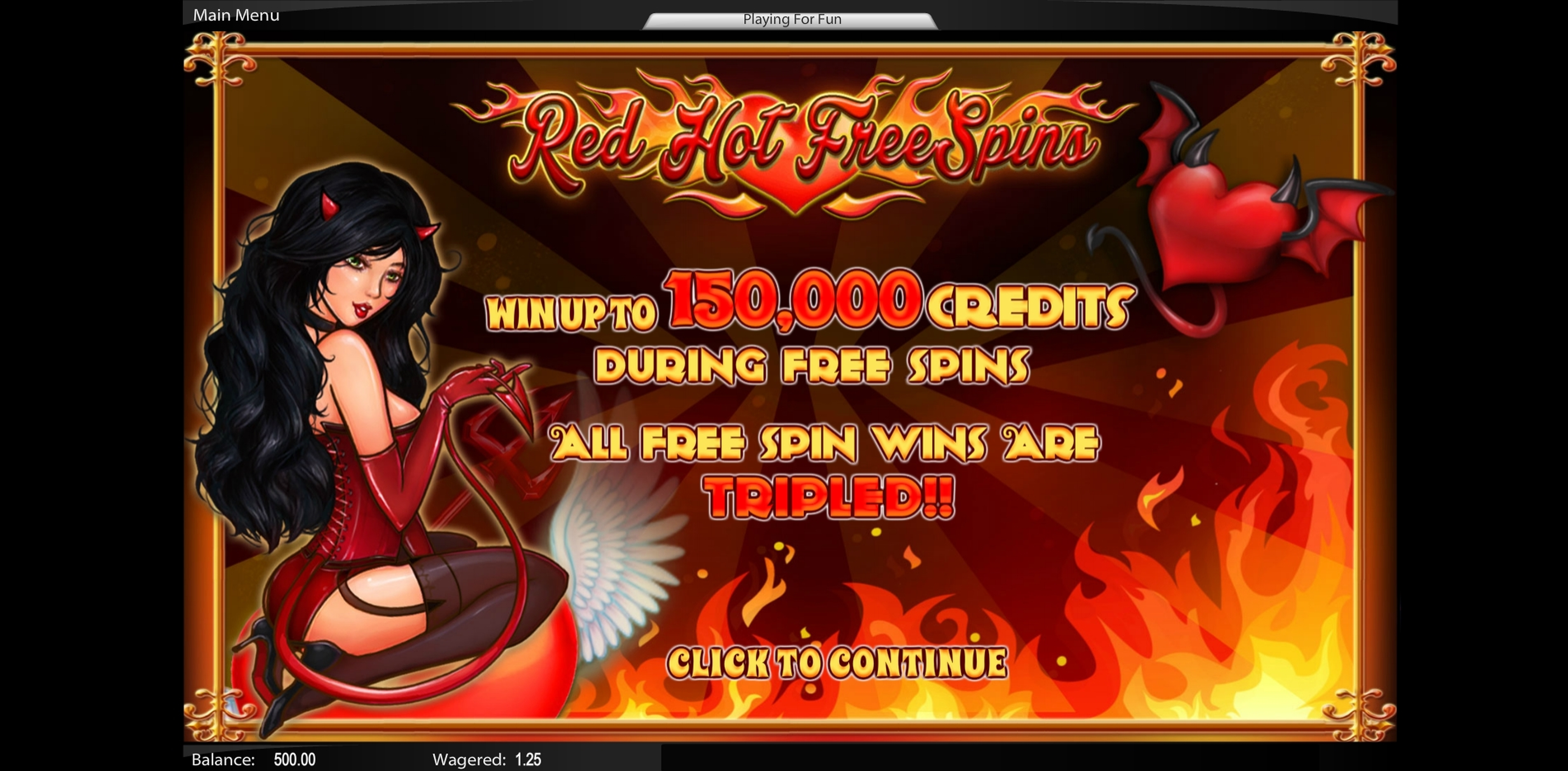Play Red Hot Free Spins Free Casino Slot Game by Top Trend Gaming