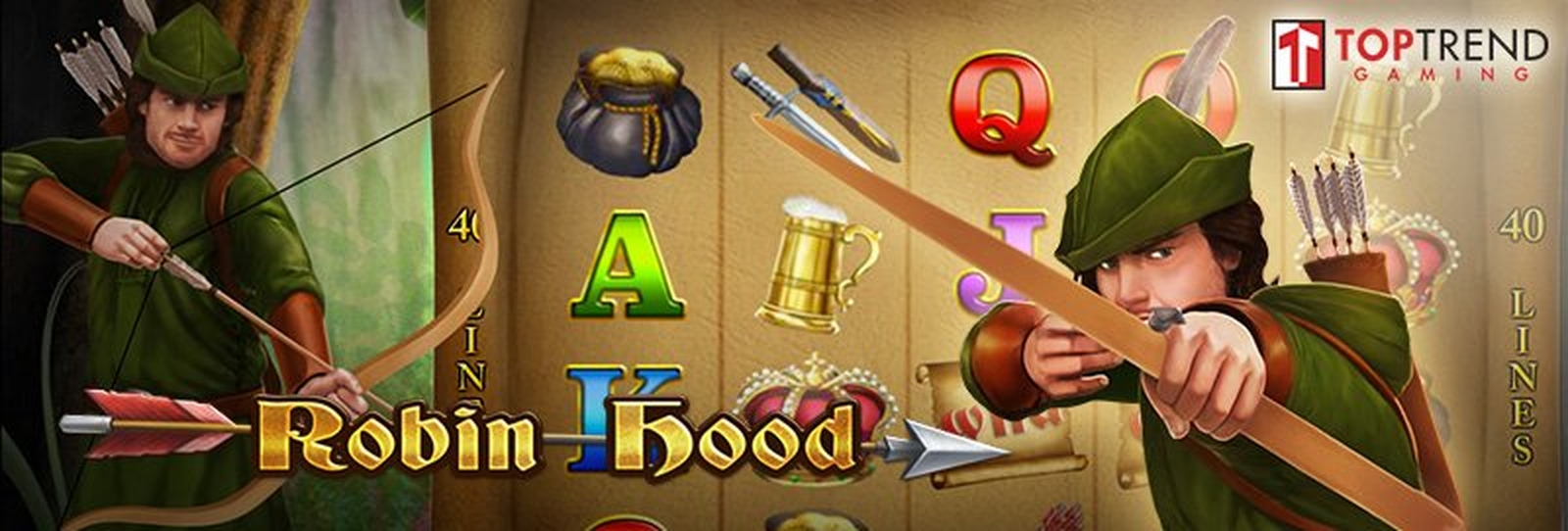 The Robin Hood (TopTrendGaming) Online Slot Demo Game by Top Trend Gaming