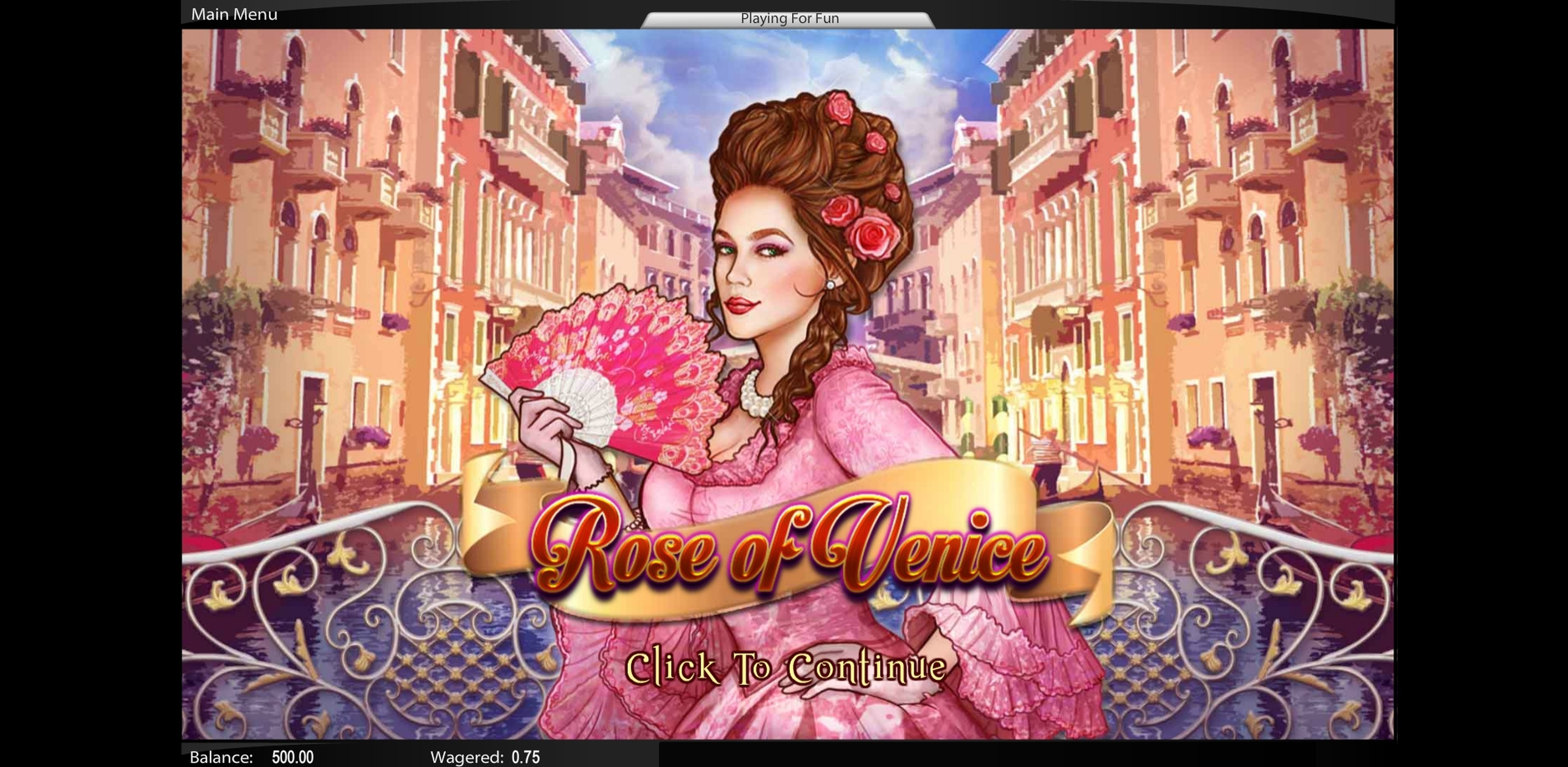 Play Rose of Venice Free Casino Slot Game by Top Trend Gaming
