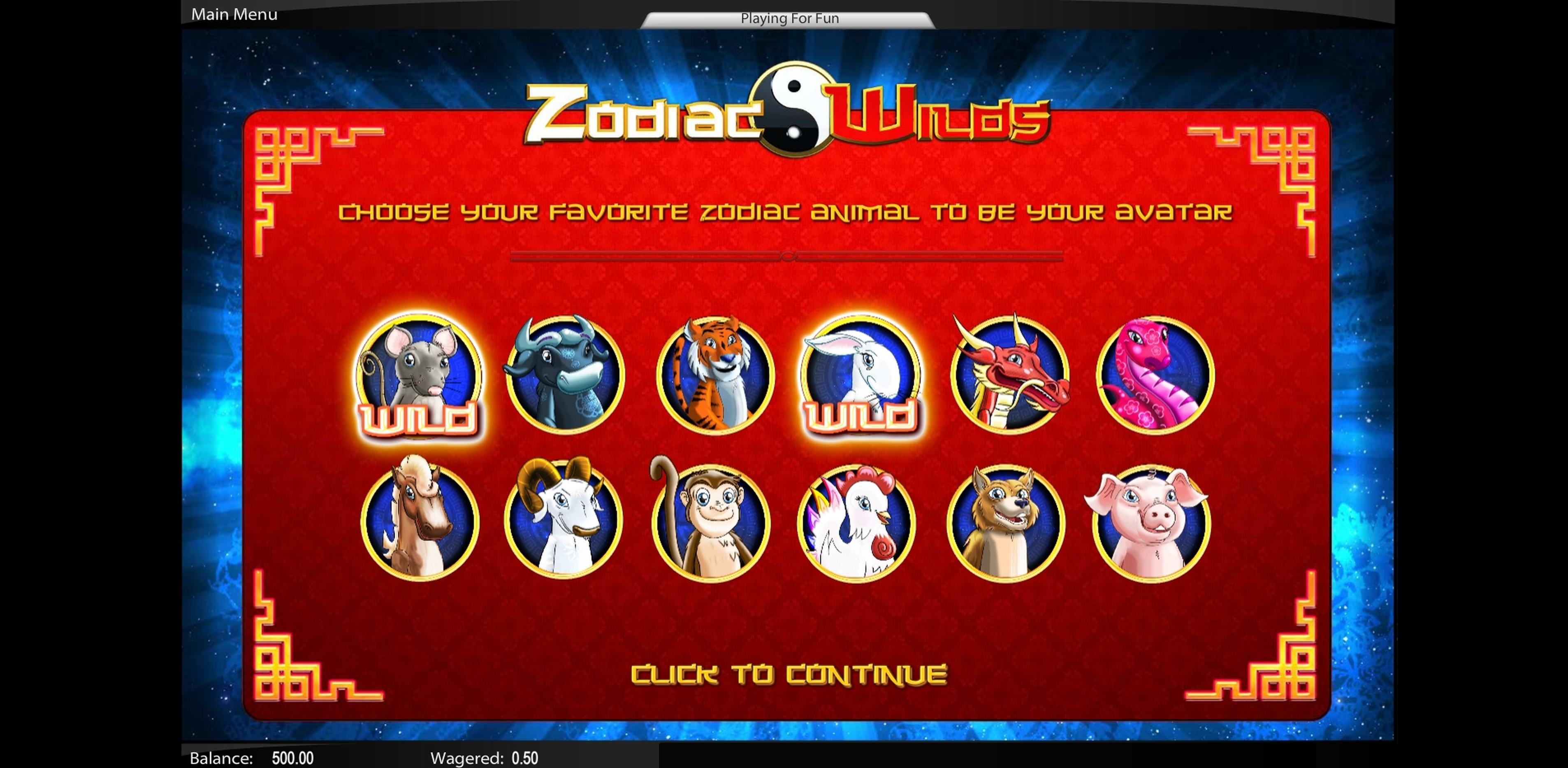 Play Zodiac Wilds Free Casino Slot Game by Top Trend Gaming