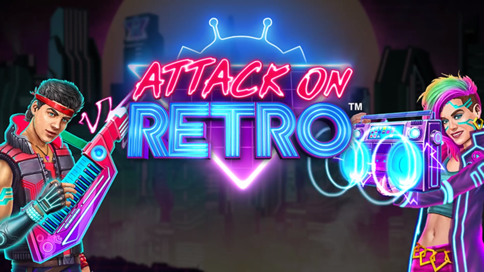 Attack on Retro Online Slot Demo Game by Triple Edge Studios