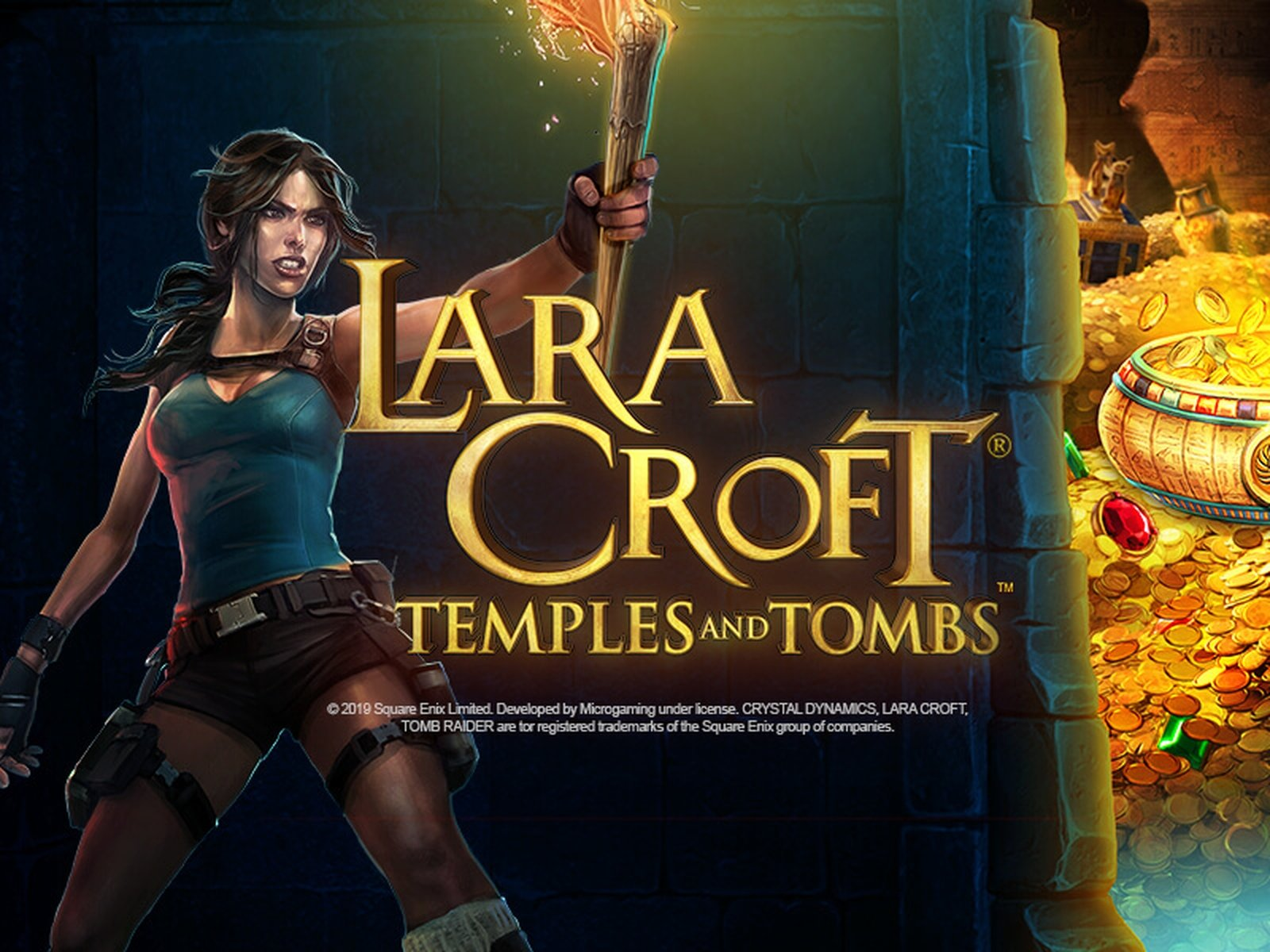 Lara Croft Temples and Tombs Online Slot Demo Game by Triple Edge Studios