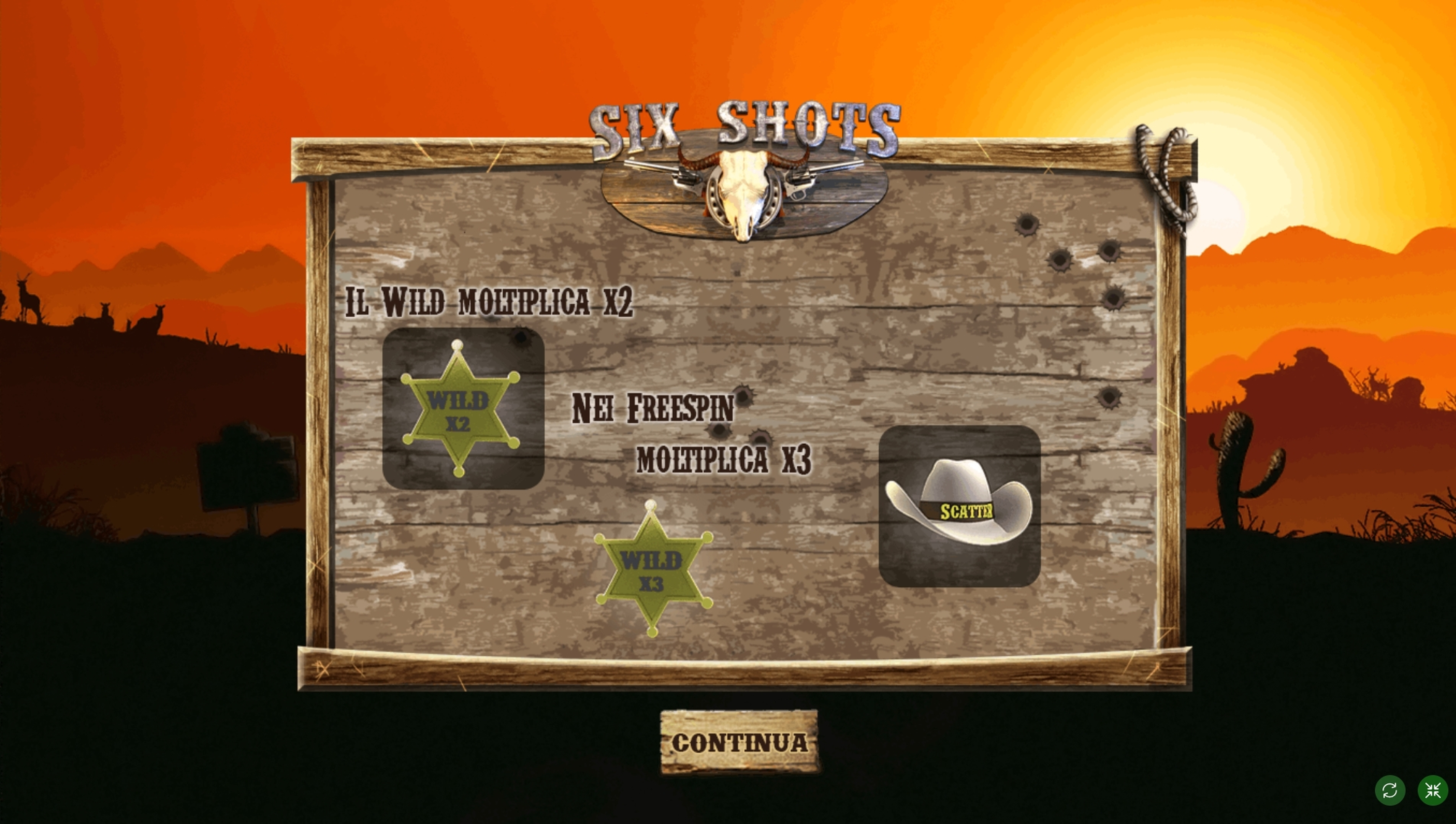 Play Six Shots Free Casino Slot Game by Tuko Productions
