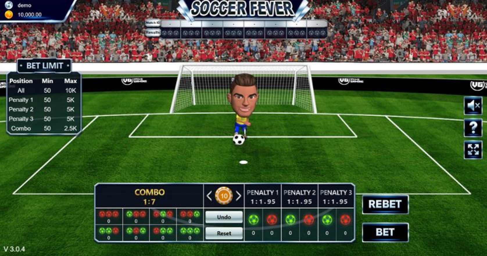 The Soccer Fever Online Slot Demo Game by Vela Gaming