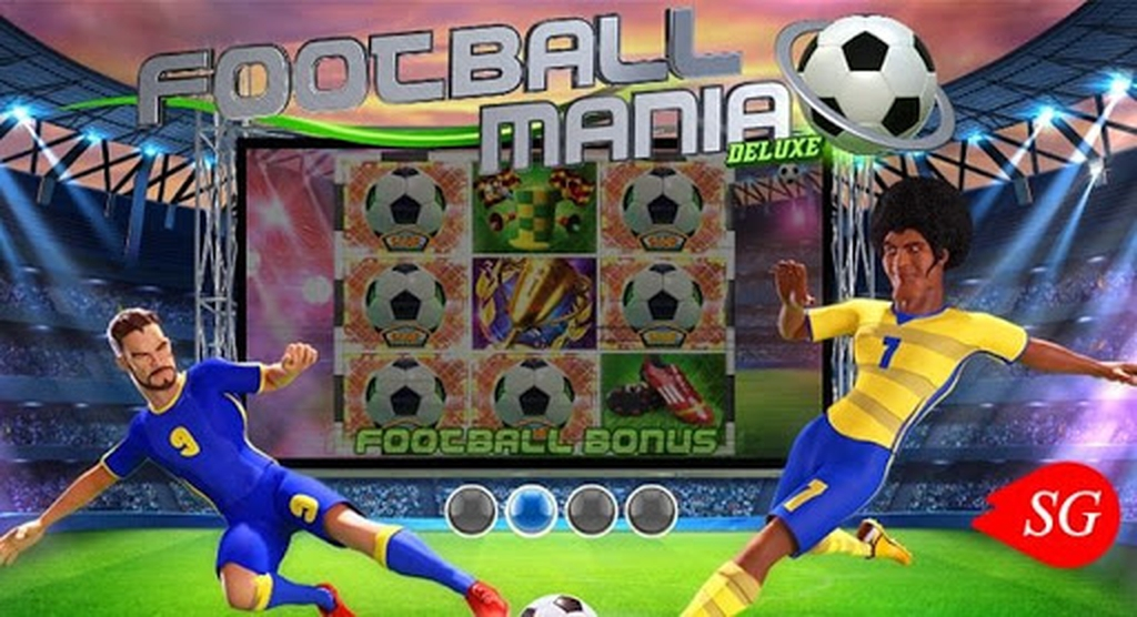 Football Mania Deluxe Online Slot Demo Game by Wazdan