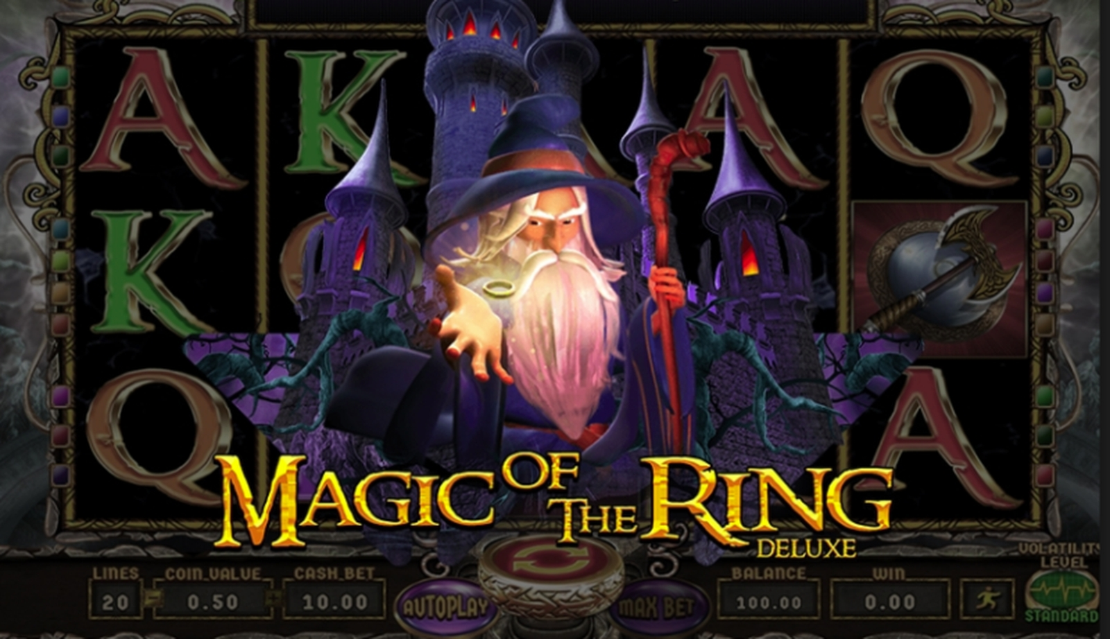 Magic of the Ring Deluxe Online Slot Demo Game by Wazdan