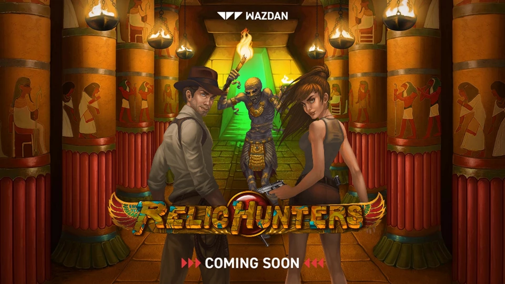 Relic Hunters Online Slot Demo Game by Wazdan