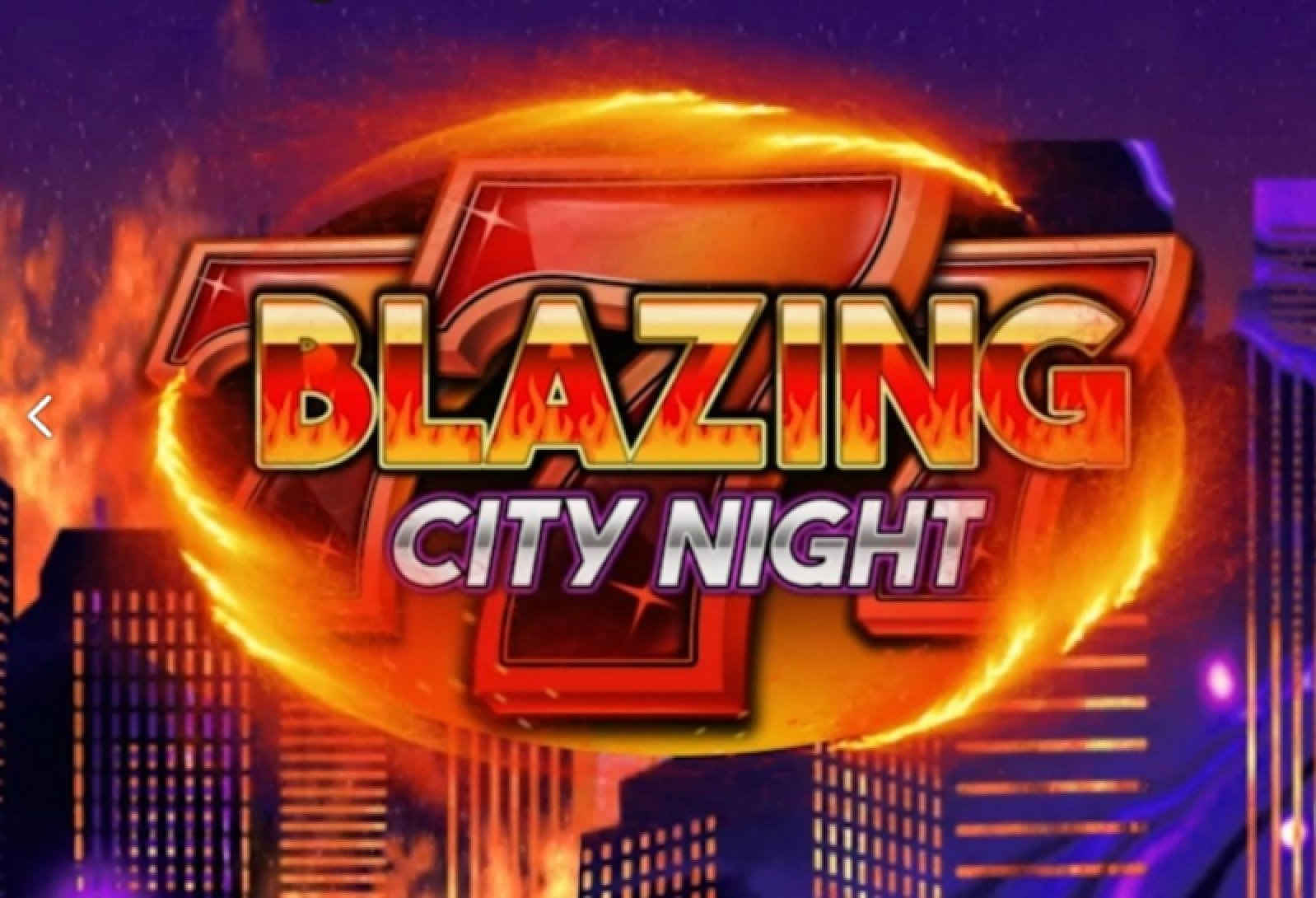 Blazing City Night Online Slot Demo Game by We Are Casino