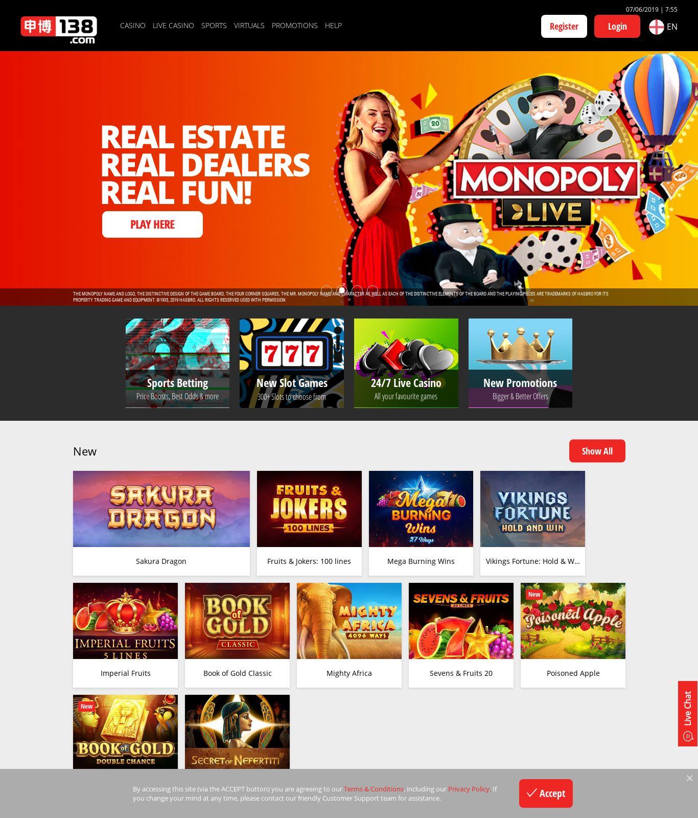 superior casino scam