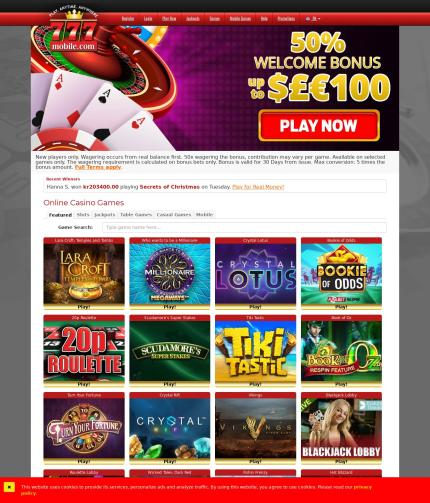 777 Mobile 777mobile Com Casino Review Scam Report By July 20