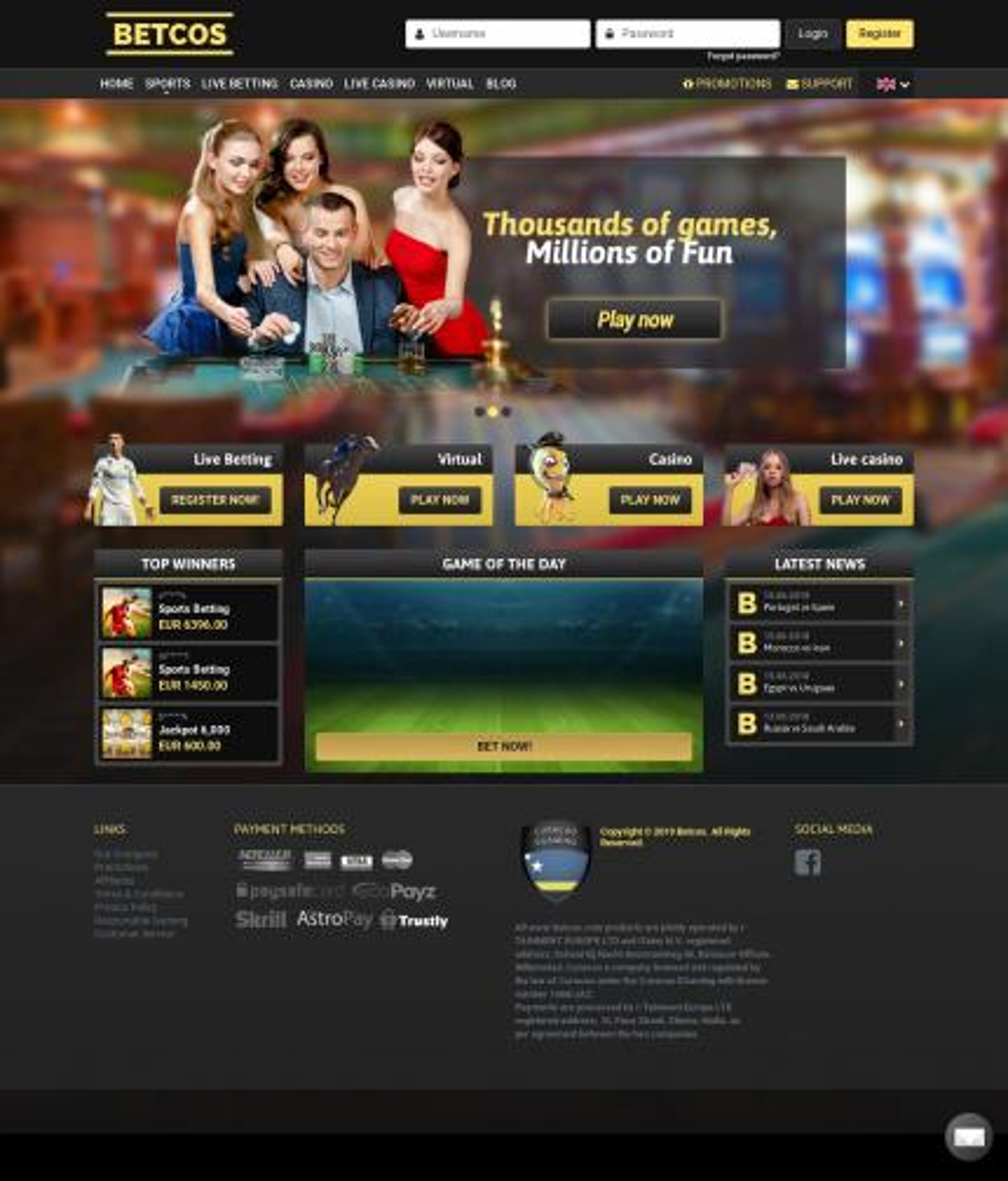 Betcos 1 Betcos1 Com Casino Review Scam Report By July 11
