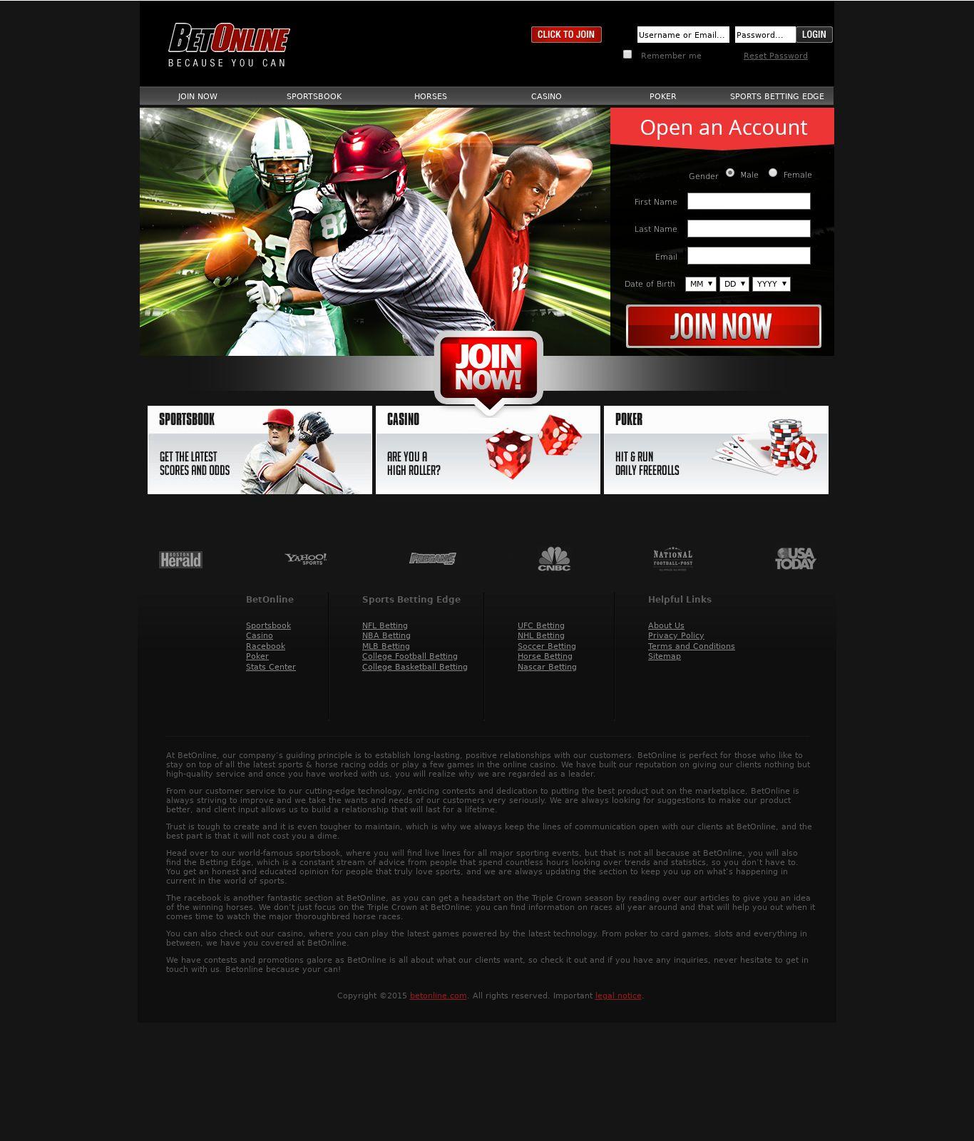 casino sports betting sites