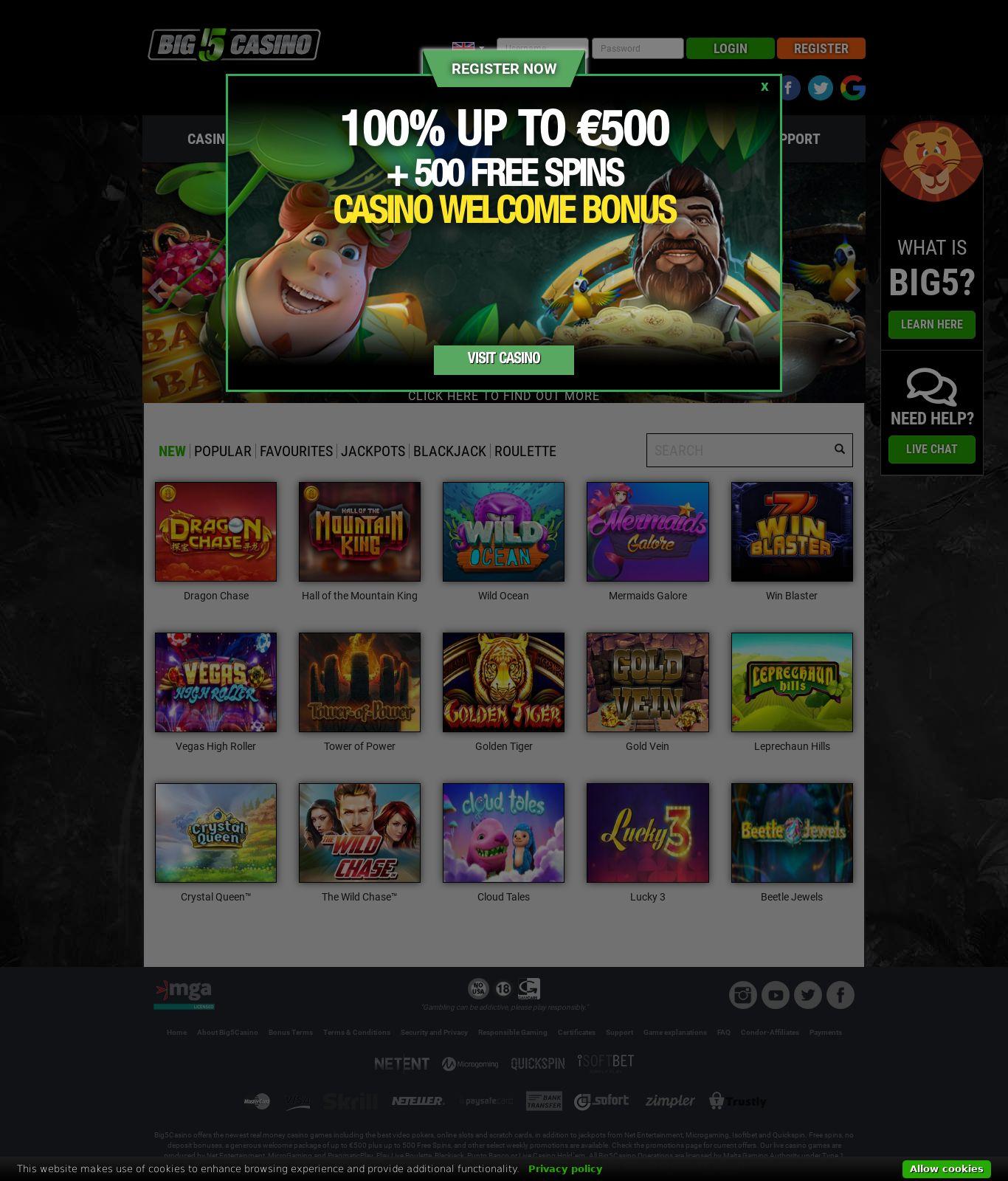 Big 5 Casino Big5casino Com Casino Review Scam Report By