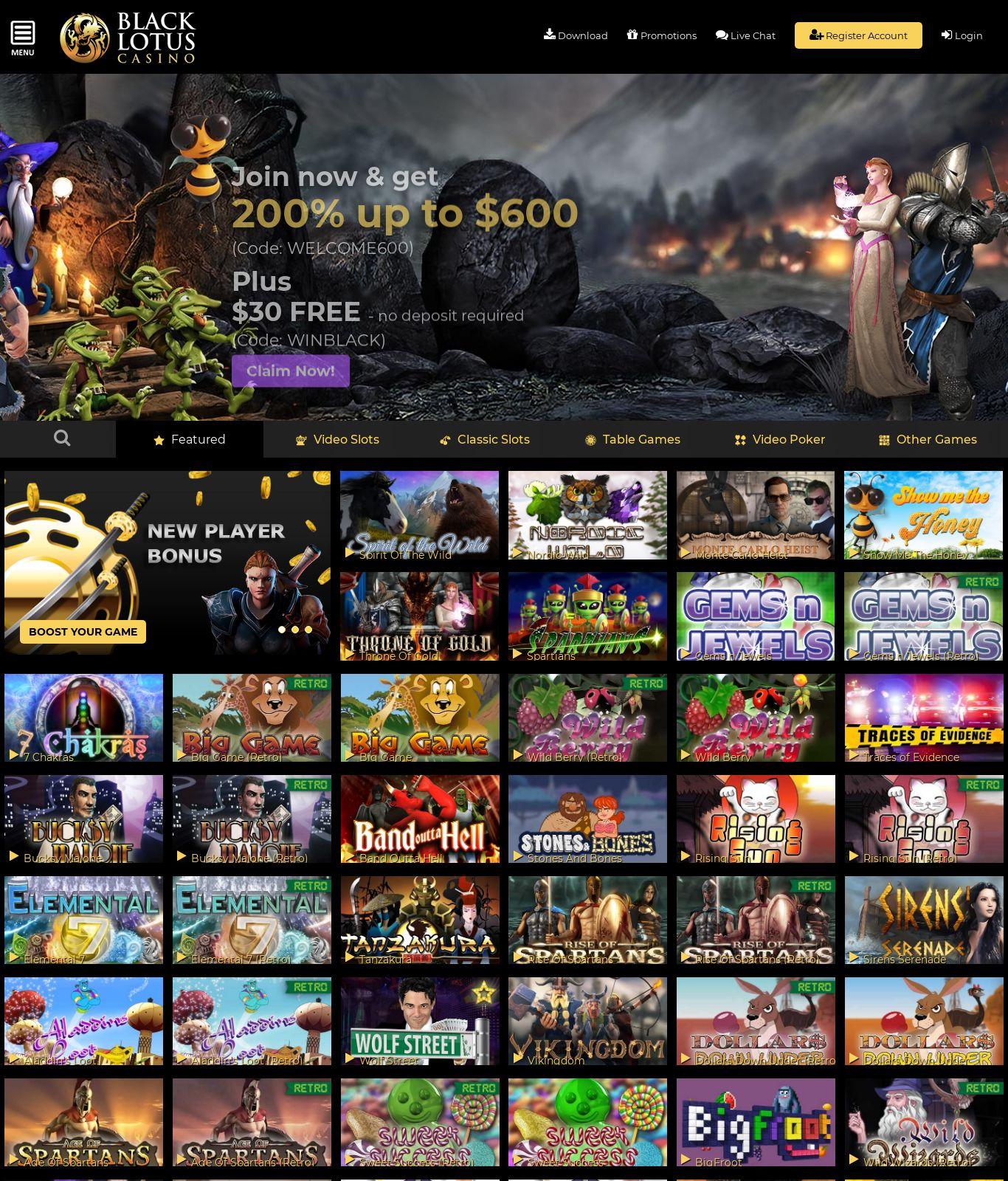 Black Lotus Casino Review Scam Report Blacklotuscasino Com May