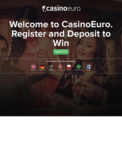 Casinoeuro.com Screenshot