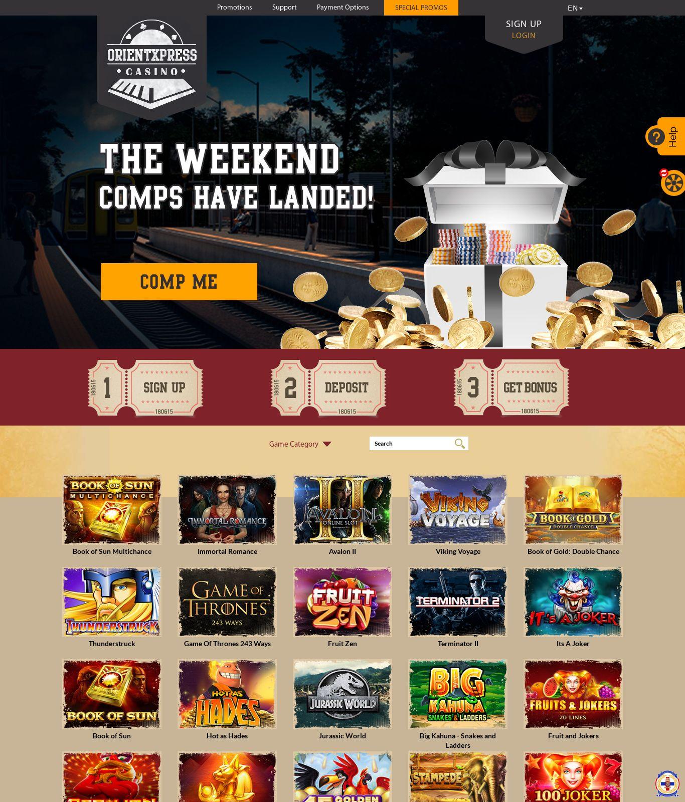 Orient ExpreГџ Casino