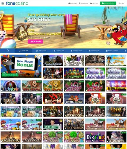 Fone Casino Instant Play