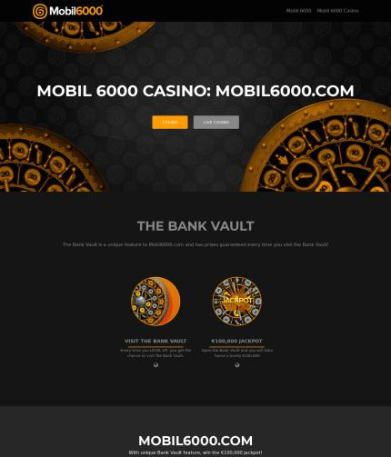 Mobil6000.casino Screenshot