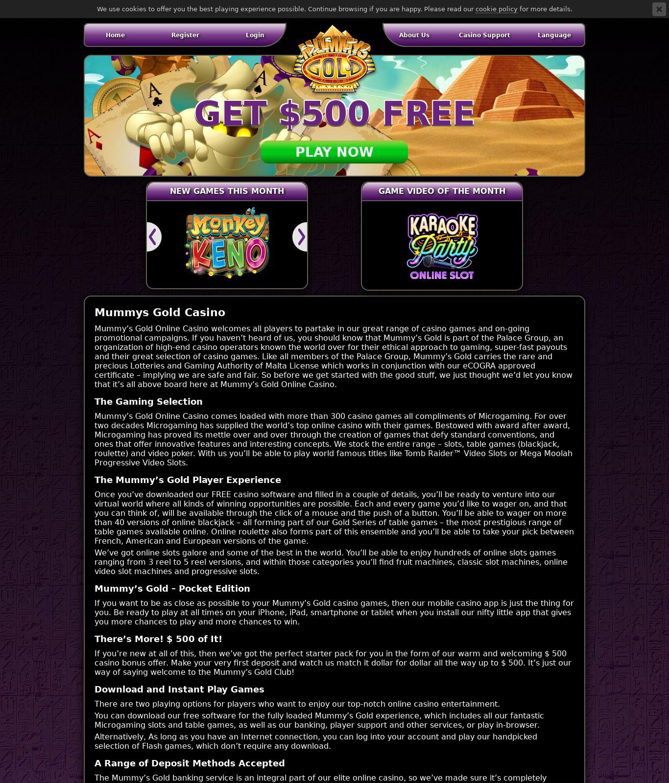 Slots oasis casino på nätet