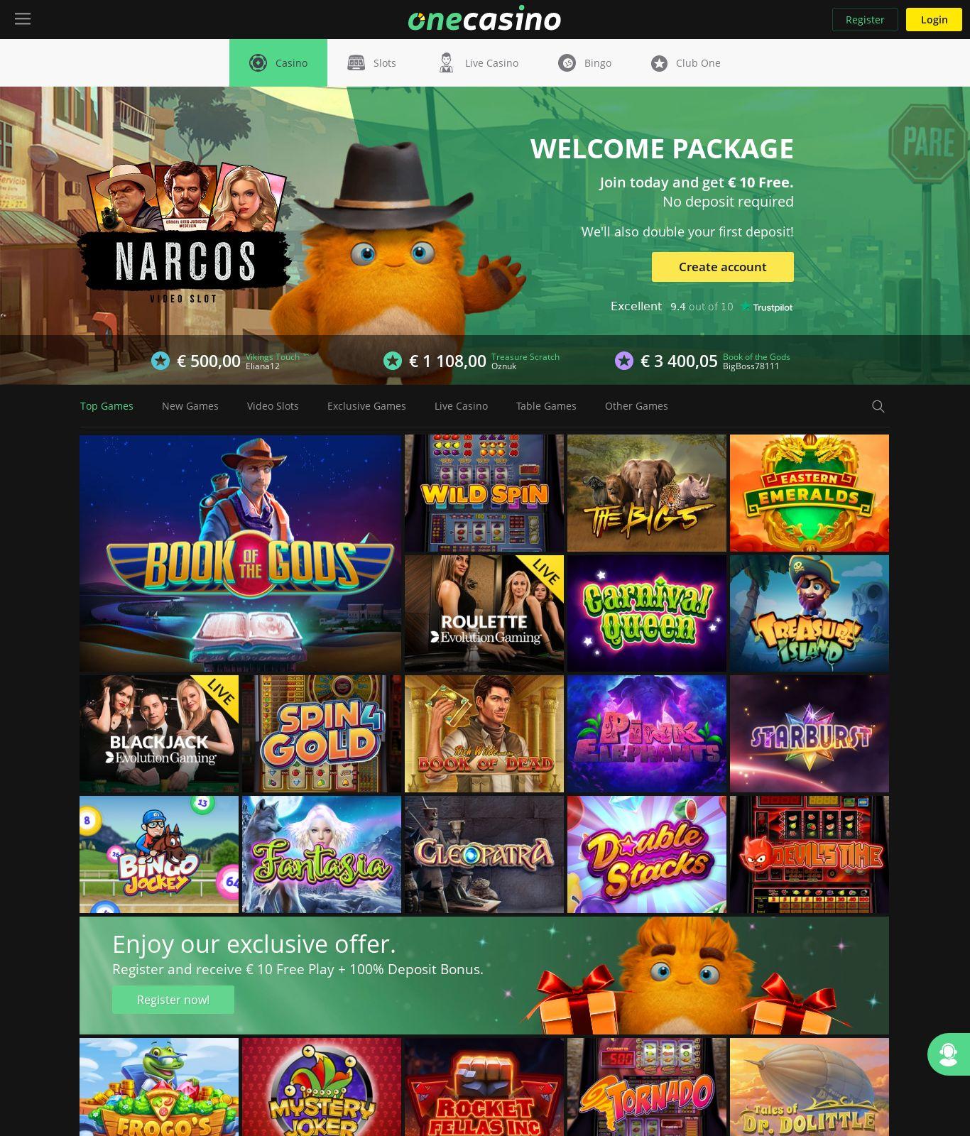 Online Casino Spielen - 500€ Freispiel Im Casino Classic