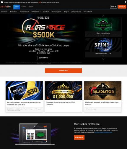 Party poker casino review bardsley in casino