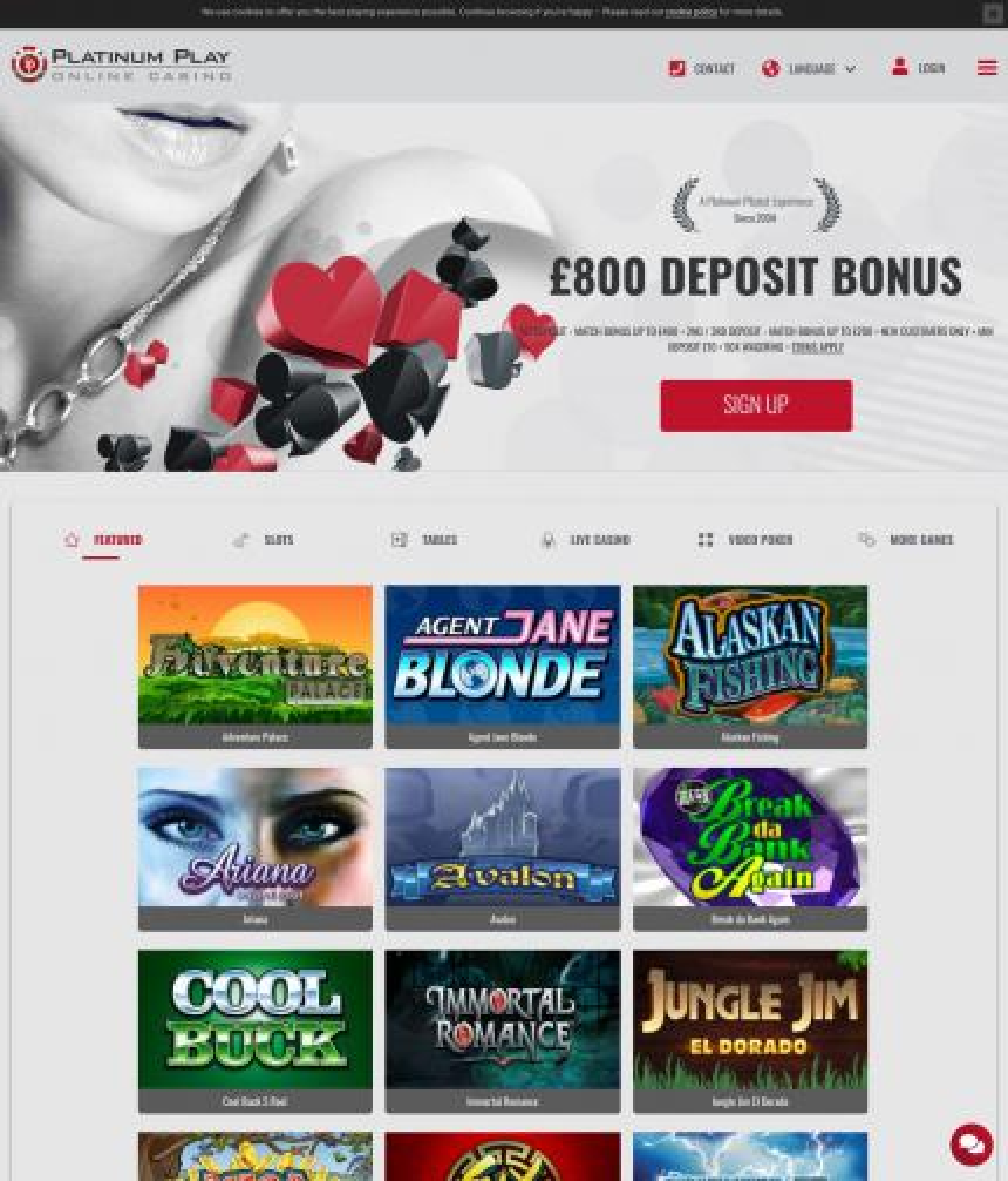 Platinum Play Casino For Iphone