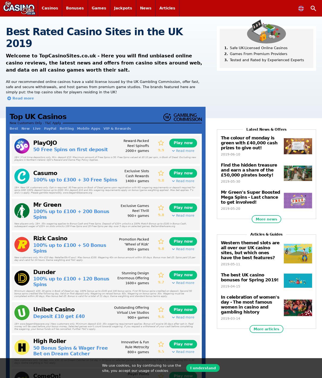 Top Casinos Ites Review Scam Report Topcasinosites Co Uk Jun
